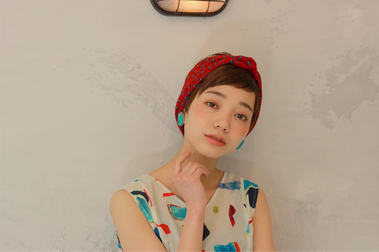 アレンジ次第で、ガーリーにも♡ miki takami