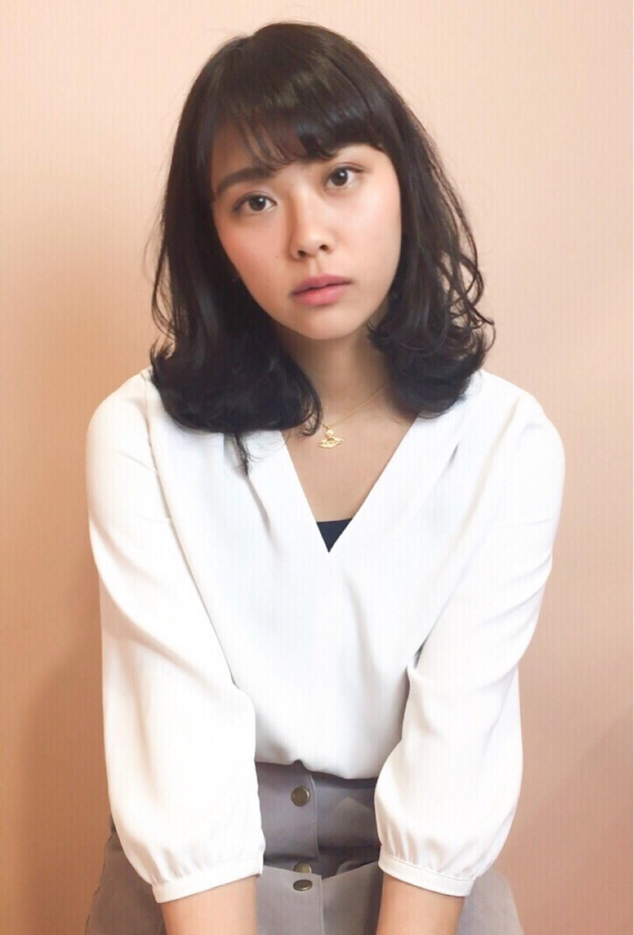 こなれ感を出すなら外ハネウェーブがオススメ! 和瀬田伸一 | mod's hair横浜西口店