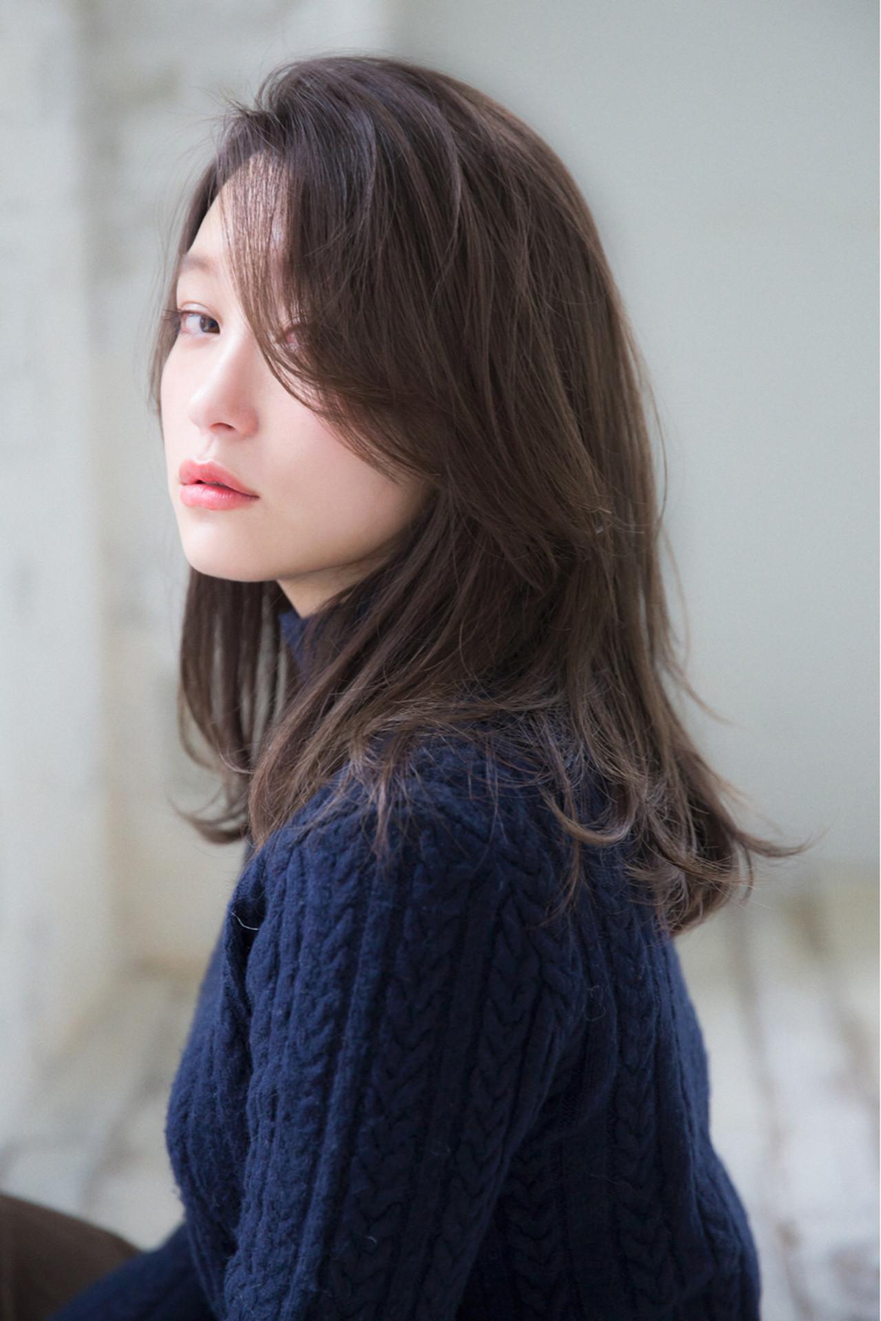黒髪なら、グッと大人っぽく女性らしい印象に joemi by unami 森千里