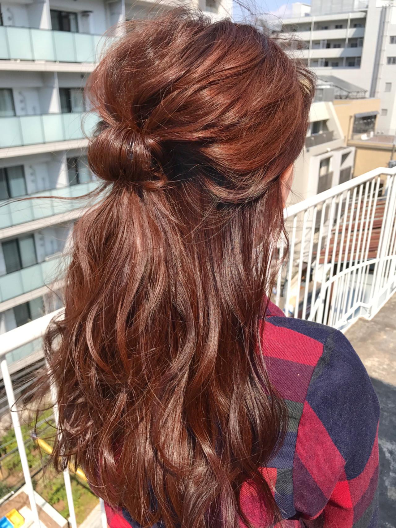 ブリーチありは明るめなピンクブラウンの髪色に♪ miya/@1031miya
