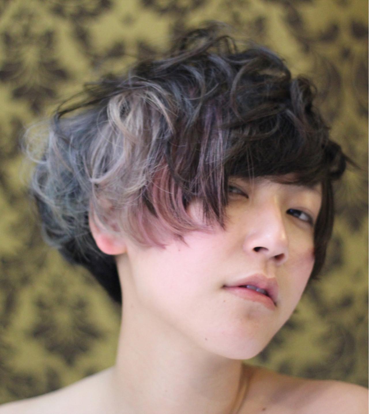 あえてラフなショートヘアも冬にはオススメ! YSO | 電髪倶楽部street