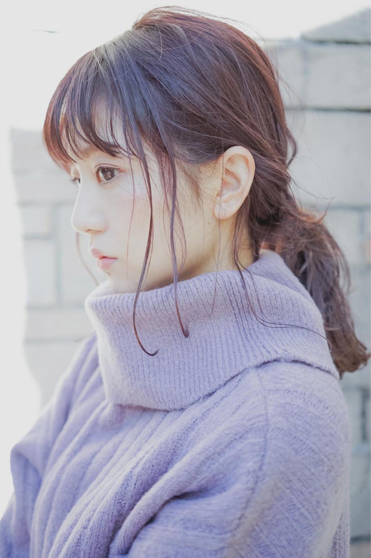 ピンクベージュのヘアで作るのはこんなイメージ♡ 桝田 由佳