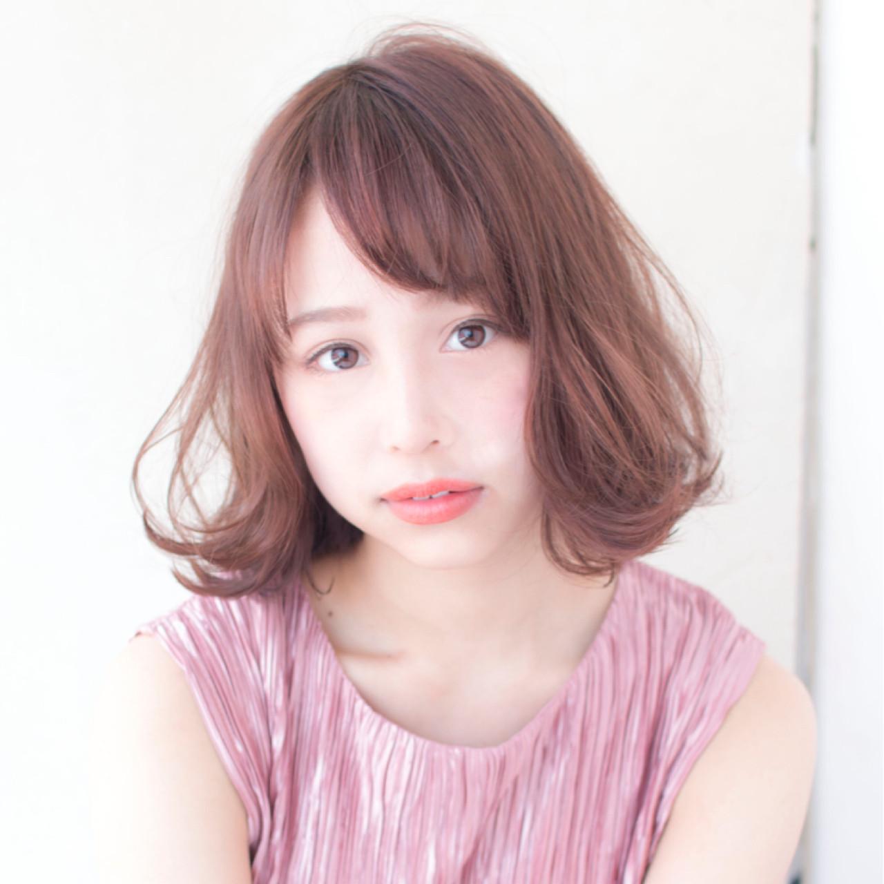 ピンクベージュにおすすめのヘアスタイルをチェックして☆ 上田ヒロツグ