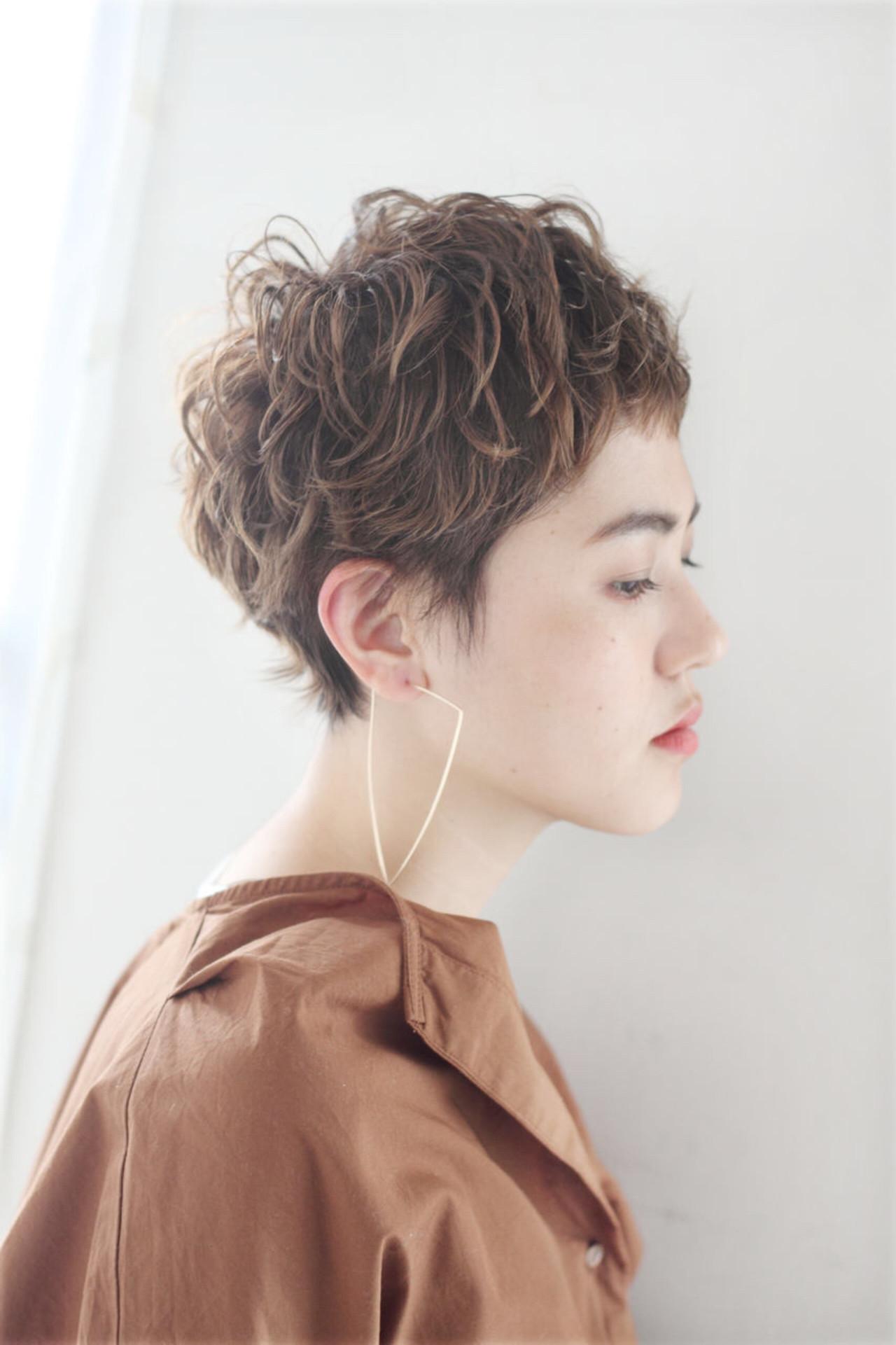 ボリュームのあるトップはラフ感UP Sasaki Ayumi | mod's hair 新宿サウス店