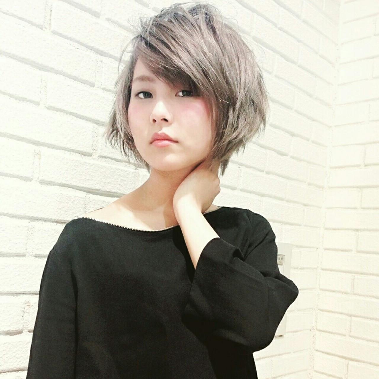 斜め前髪のアンニュイスタイル♡ 横徳憲史