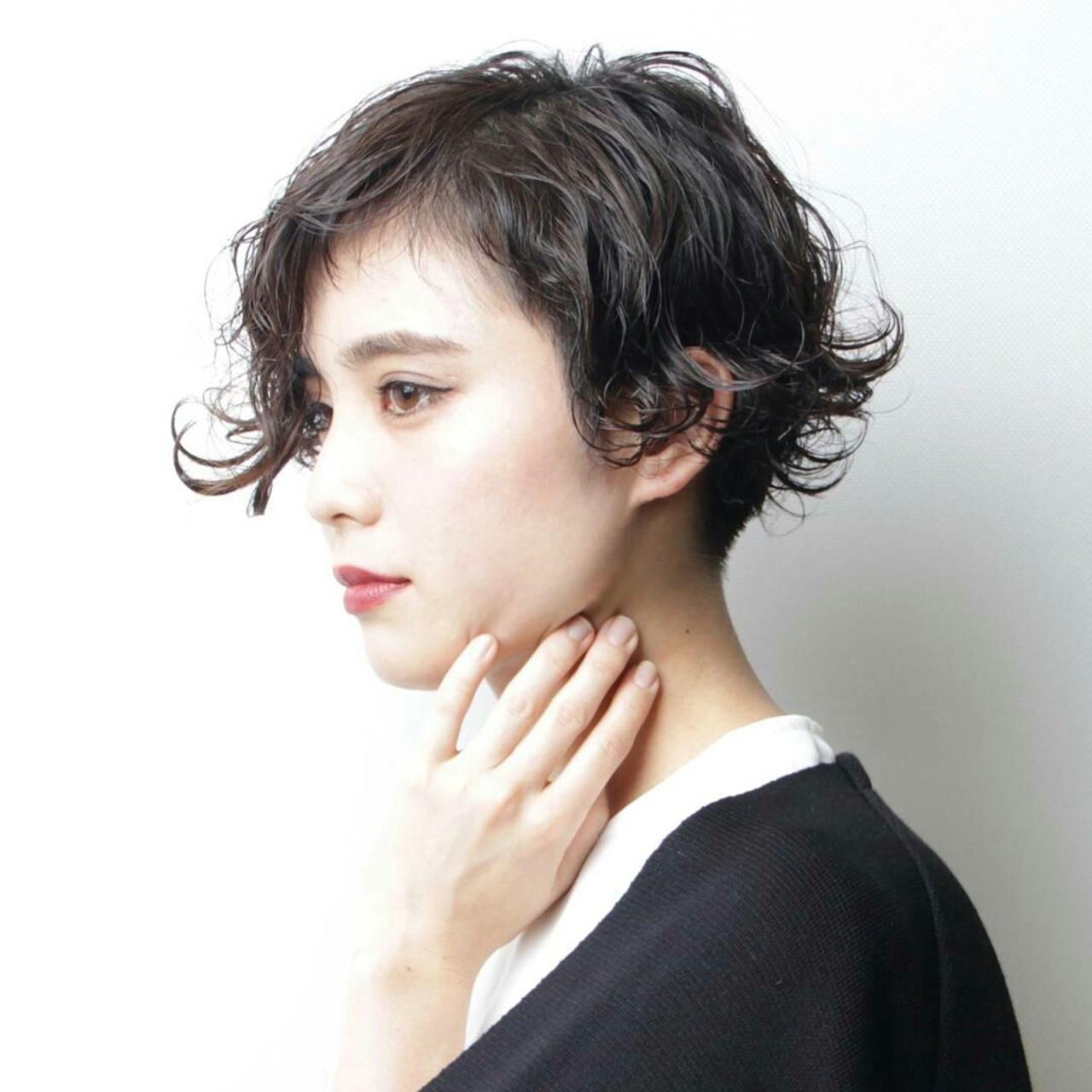 さりげないツーブロックでボーイッシュな大人へ♡ 阿藤俊也 | PEEK-A-BOO NEWoMan新宿