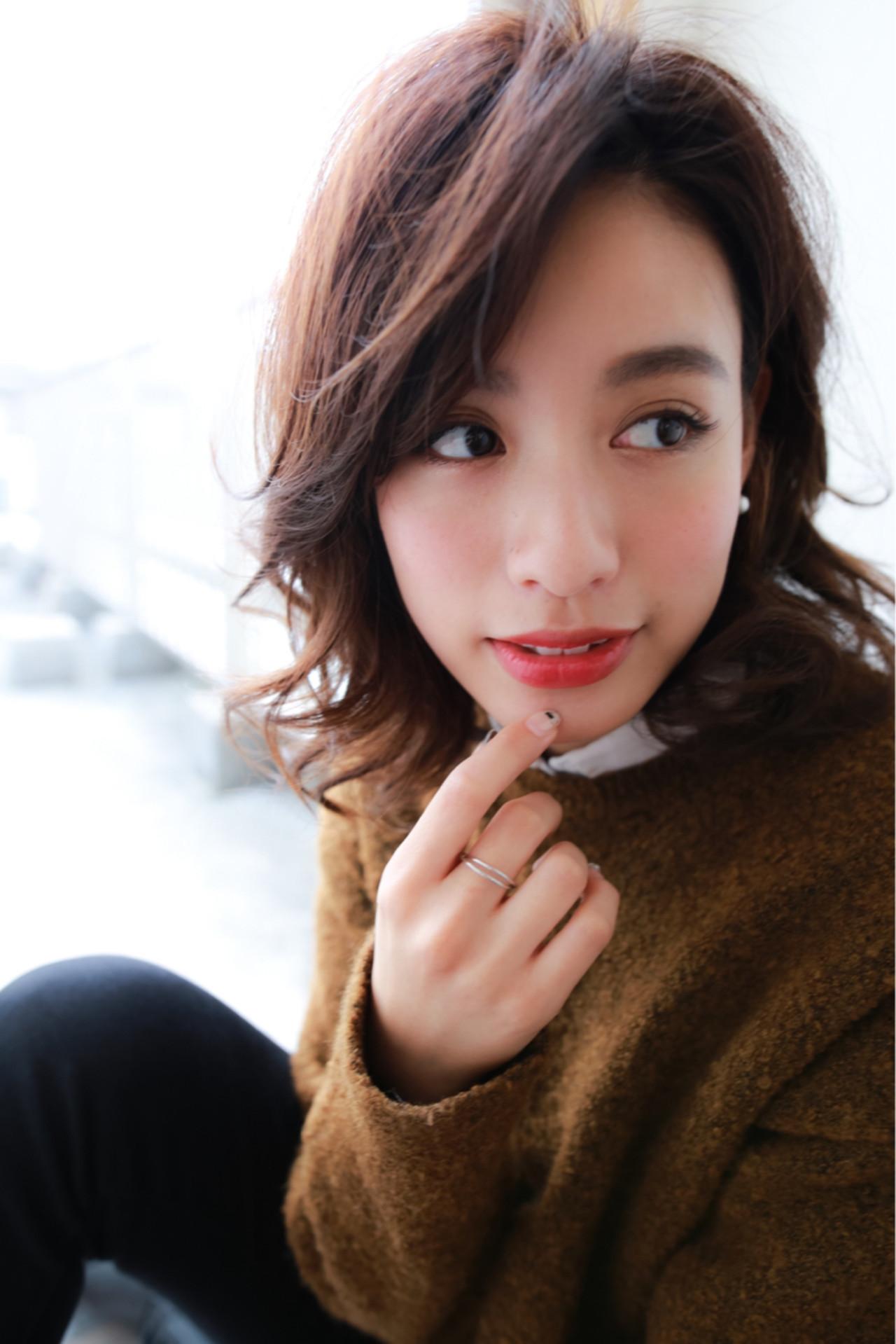 くびれが魅力的♡小顔パーマスタイル 賀満 洋行/OCEAN Hair&Life