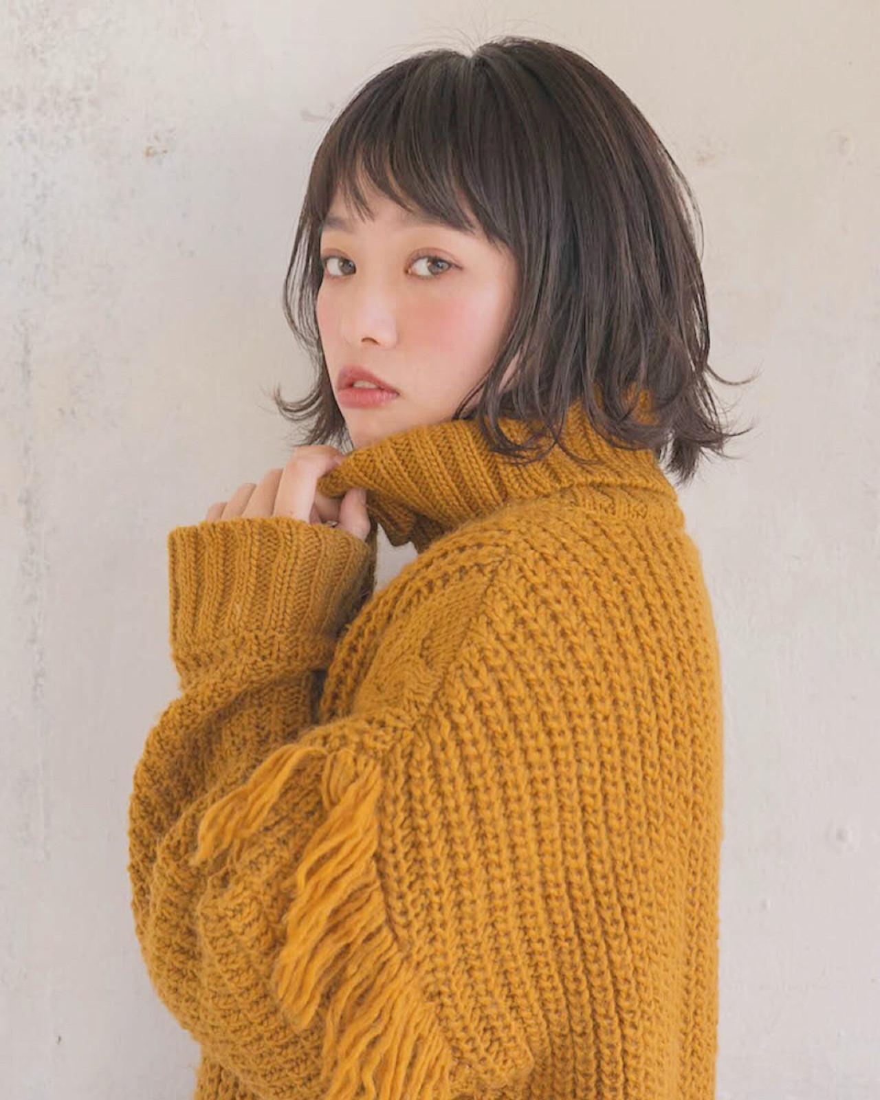 黒髪ボブで清純なイメージに♡ 竹澤 優/relian銀座