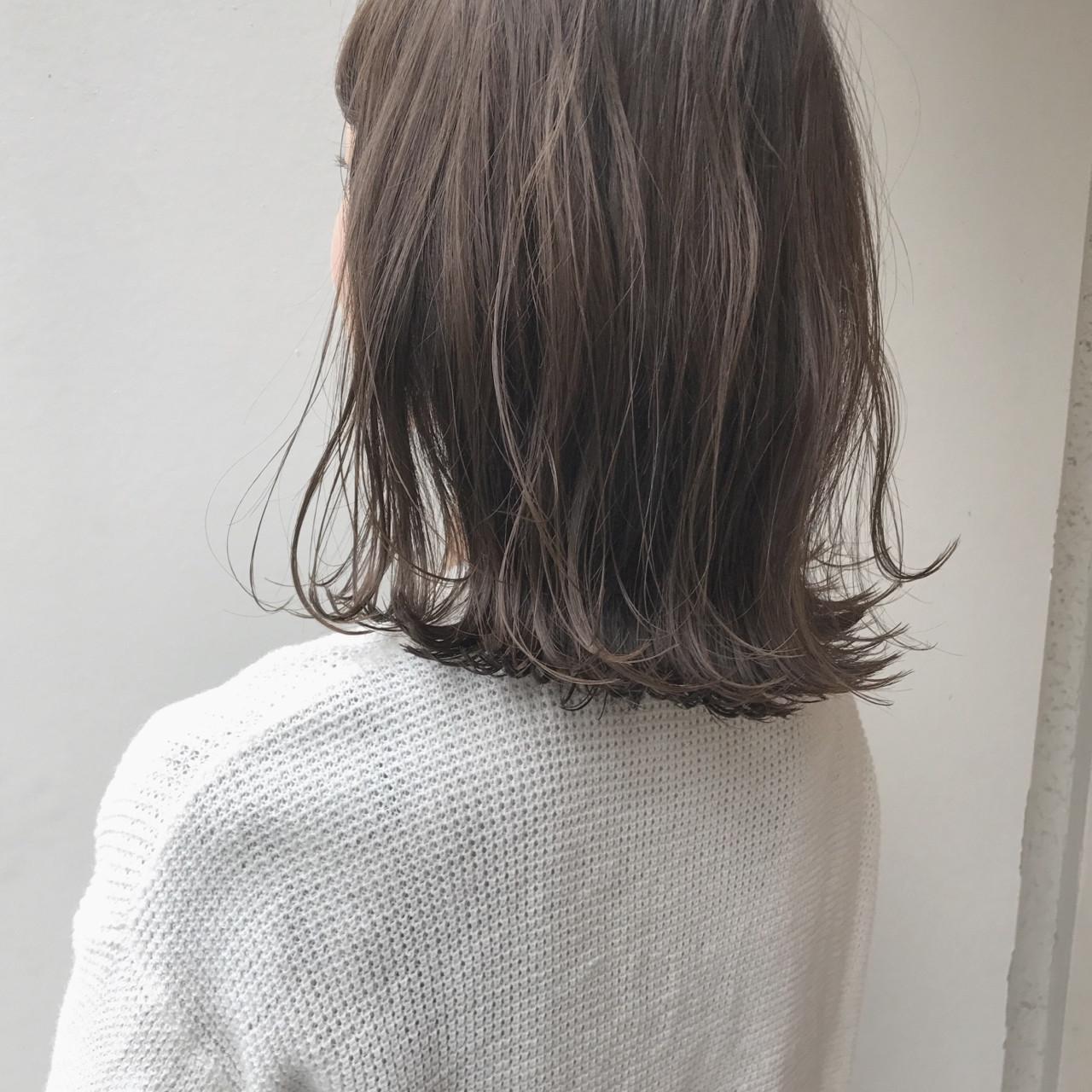おしゃれ女子に!濡れ髪外ハネロブスタイル KENTO.NOESALON