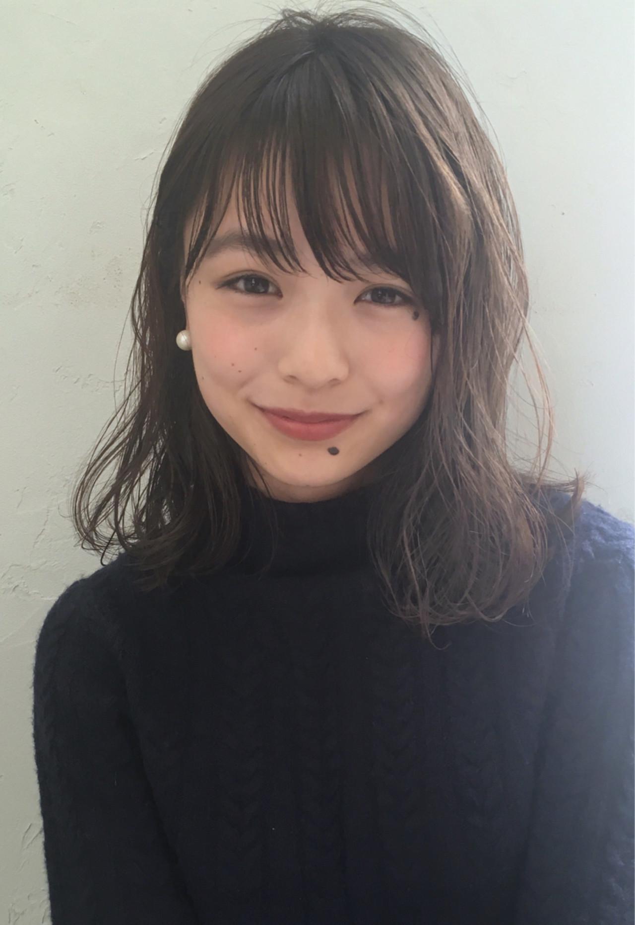 1、前髪からサイドのラインに一工夫 joemi by unami 森千里