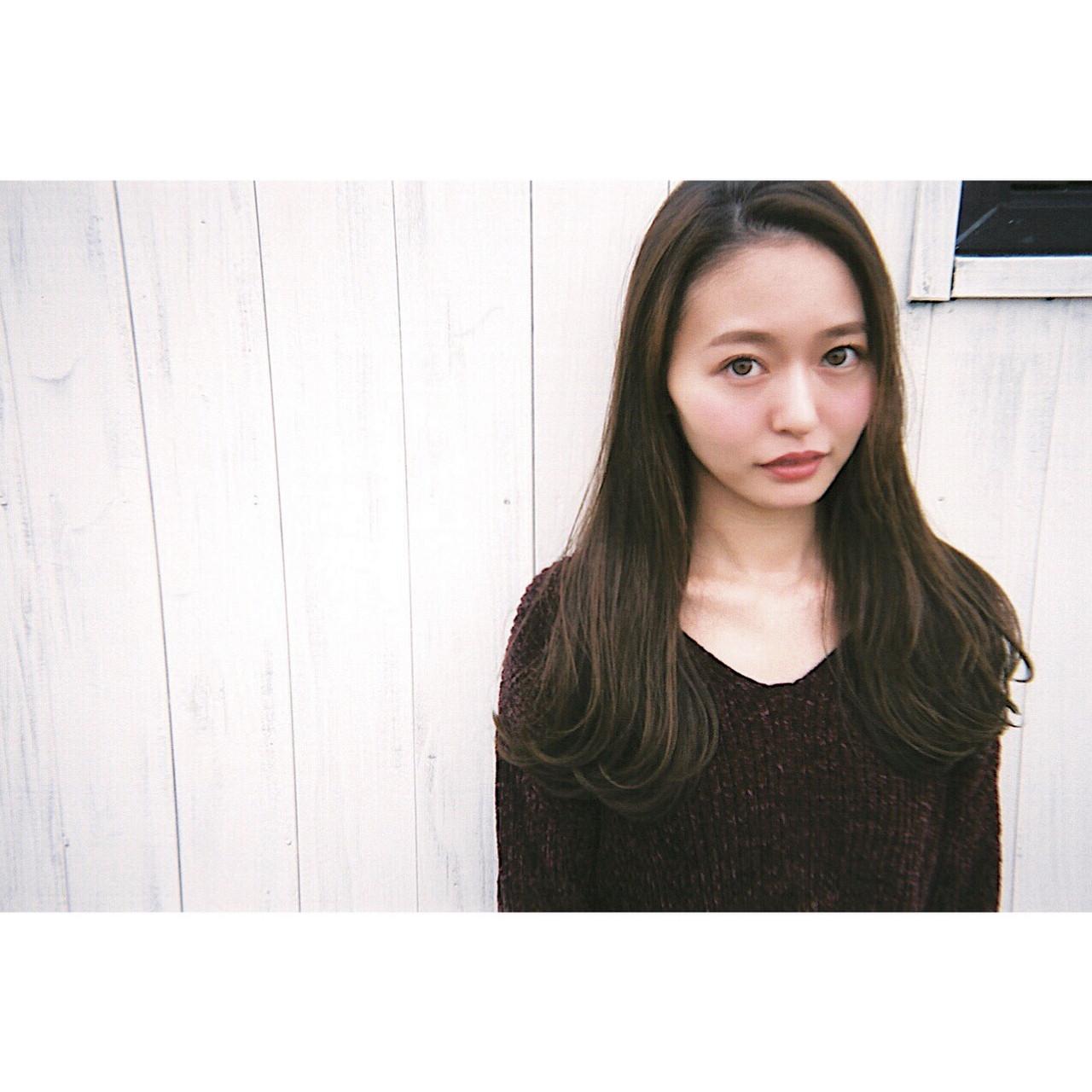 レトロガーリーな感じの前髪なしスタイル shohei nishimori