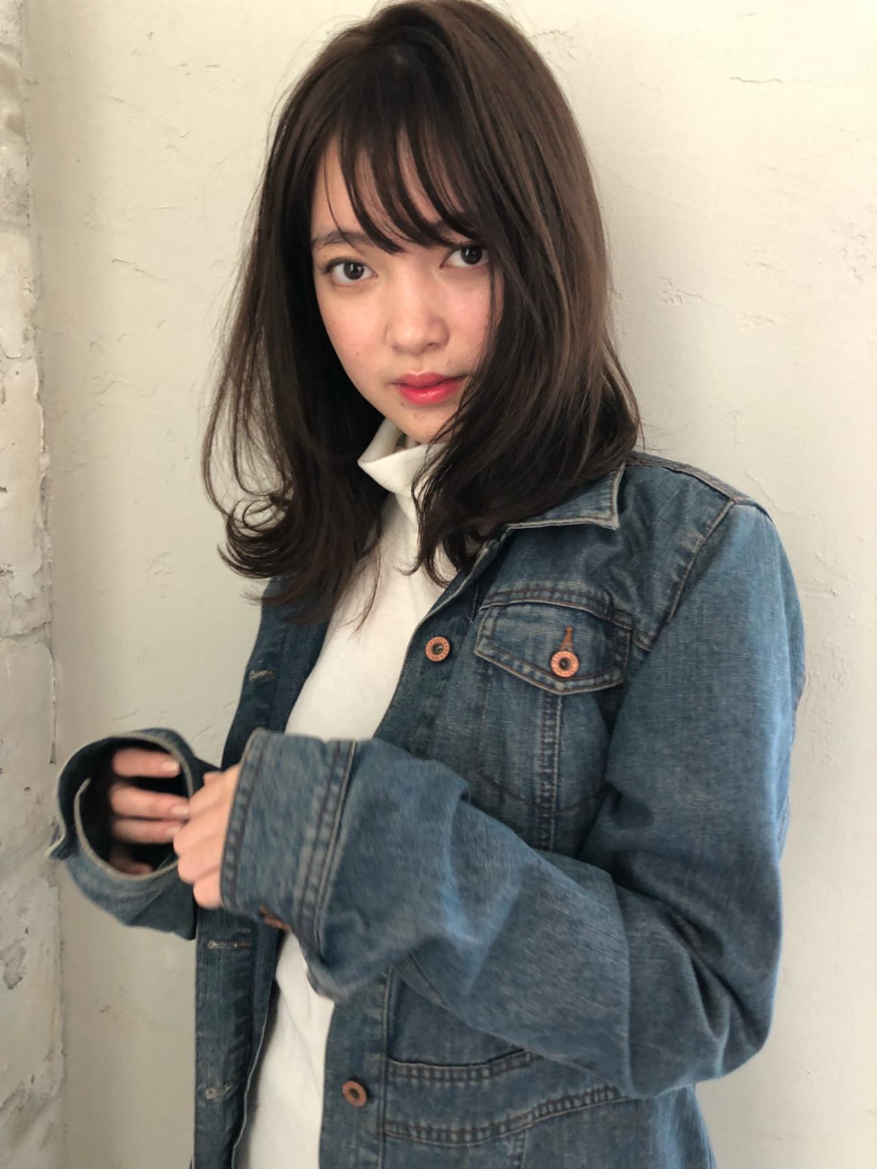 長めの前髪×毛先パーマなら大人カワイイ印象に! ナガヤ アキラ joemi 新宿 | joemi by Un ami