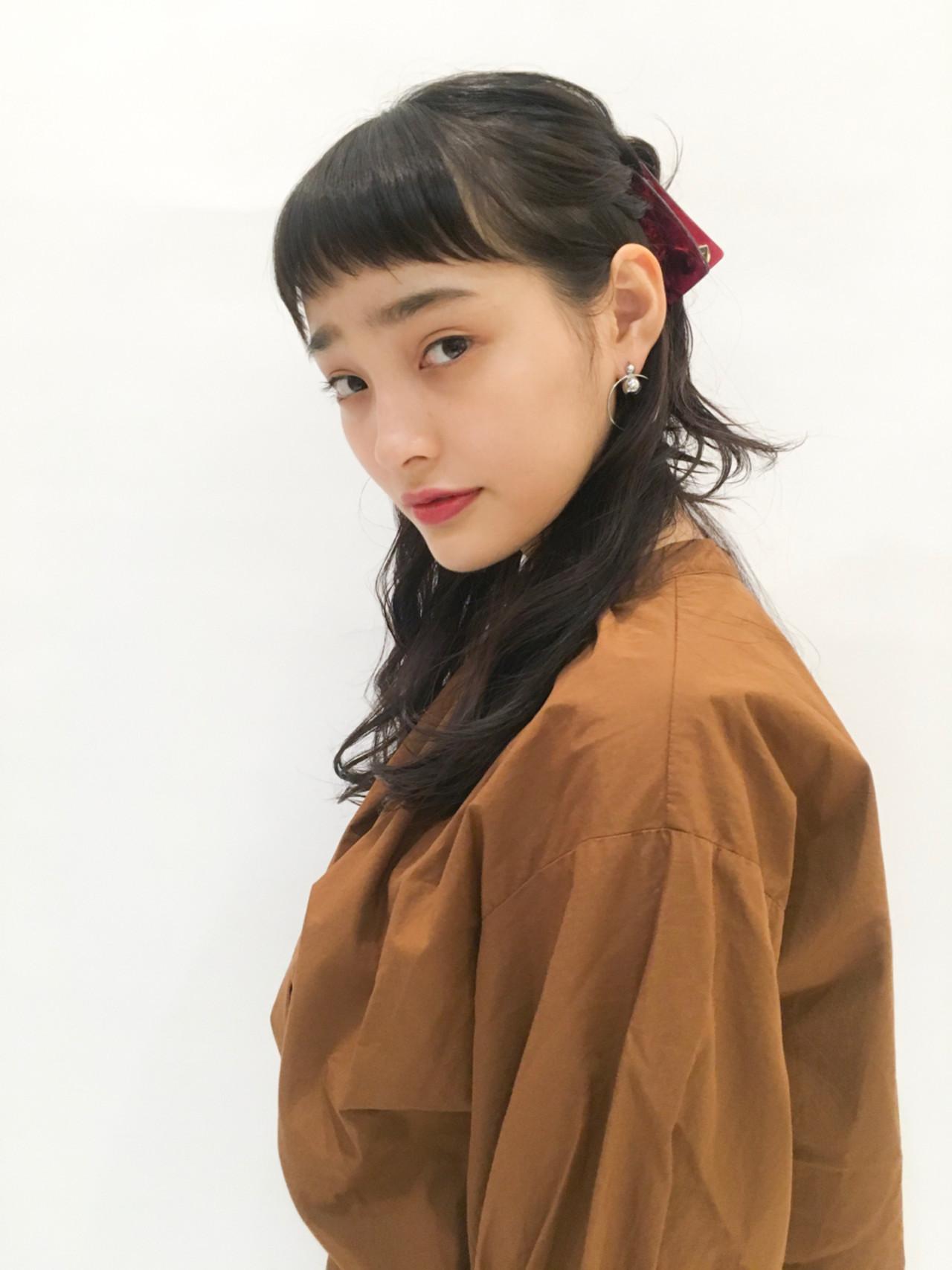 ハーフアップで簡単ヘアアレンジ♪ 表参道NORA hair salon YUKA | NORA hair salon