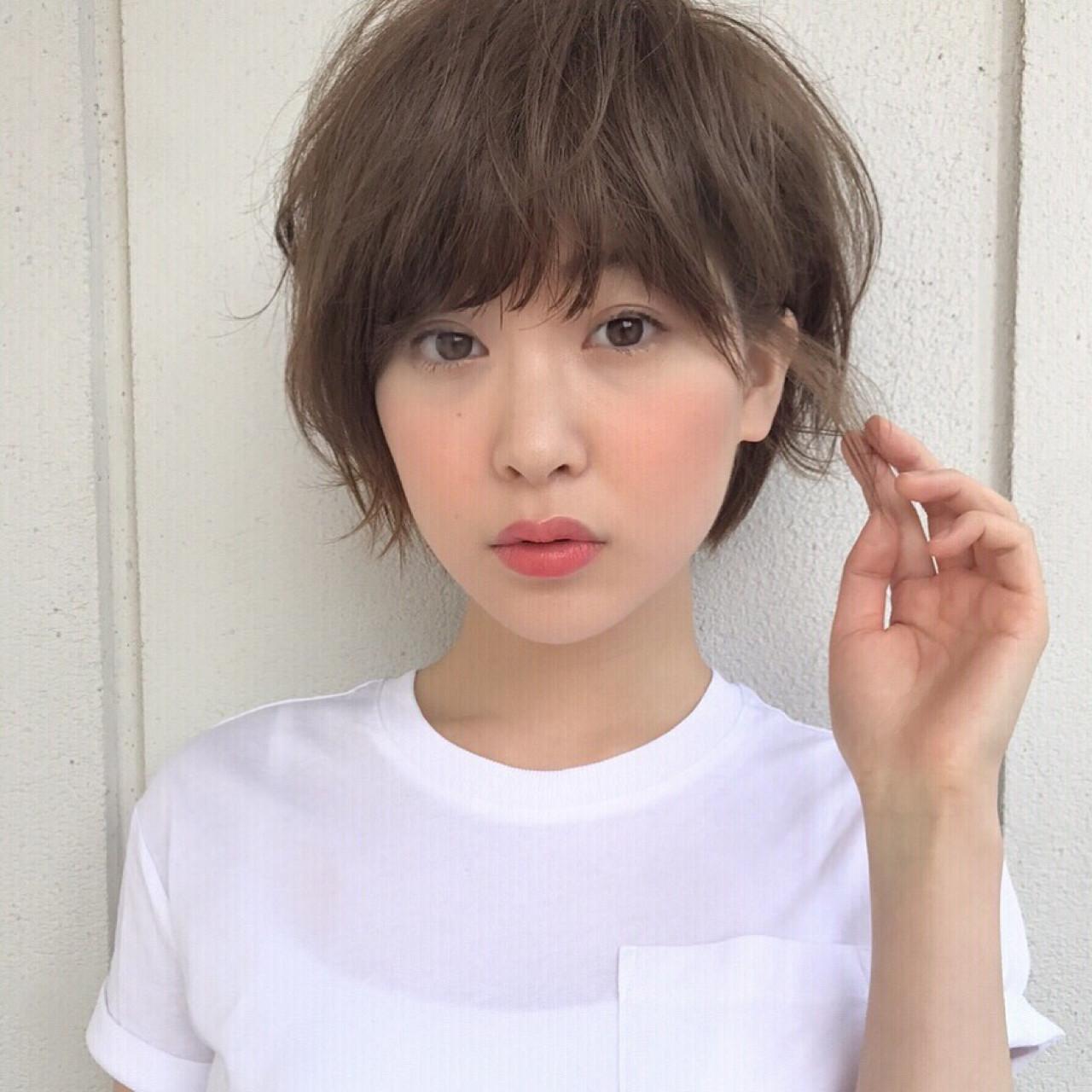 縦ラインを強調しないのが小顔に見せるコツ 高橋苗 | GARDENharajuku