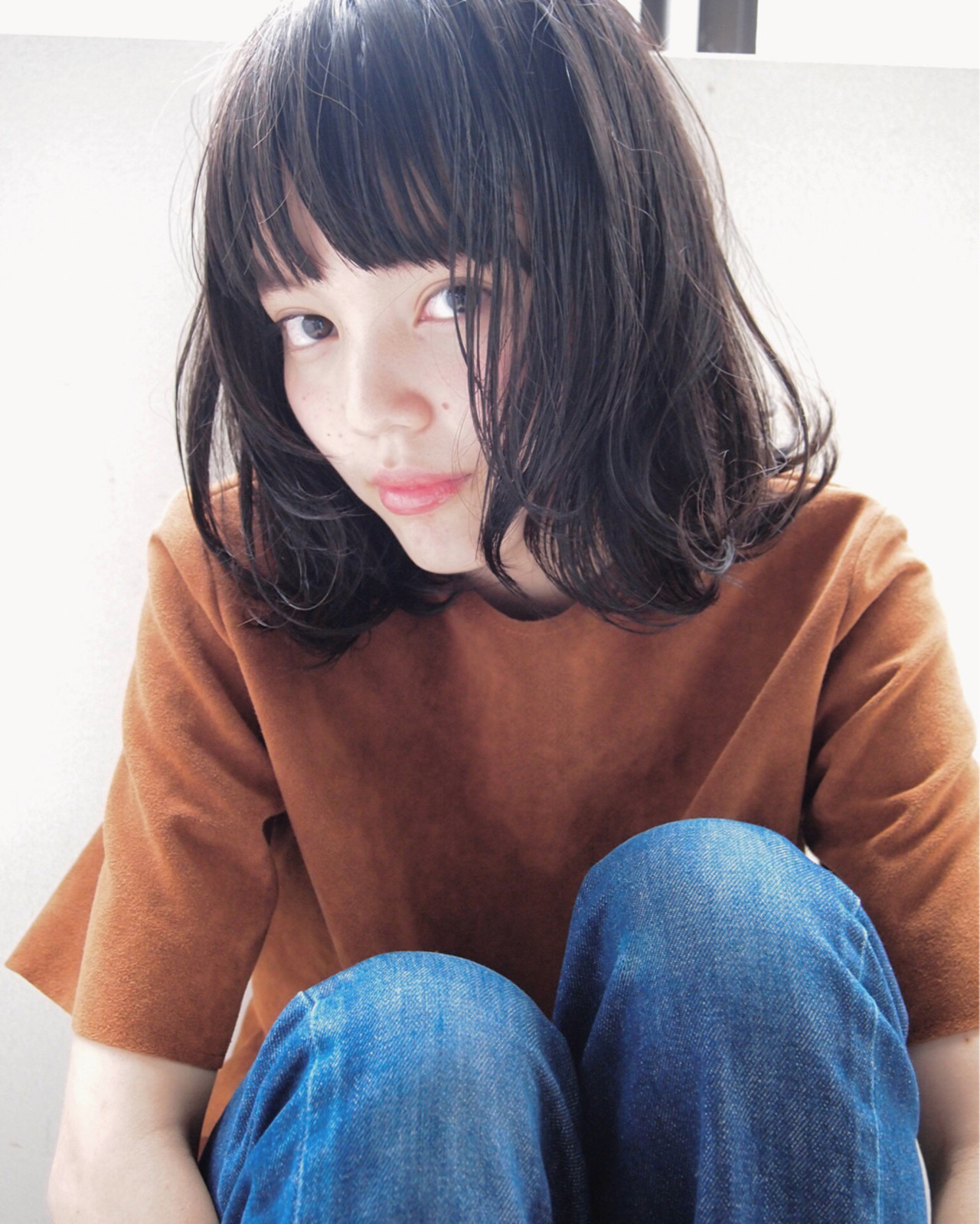 外ハネ毛先ウェーブでゆるふわヘアに♡ UEKI/nanuk
