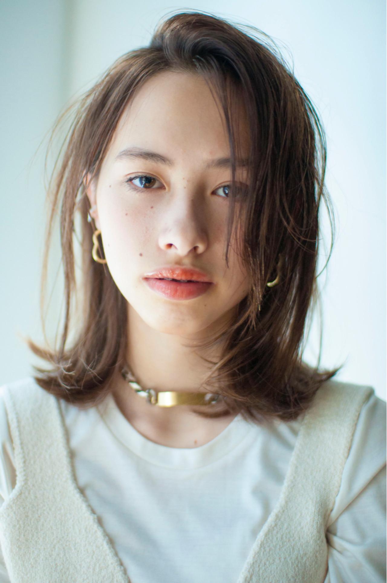 いつもと分け目を変えてみよう! YUKINA / HOMIE TOKYO