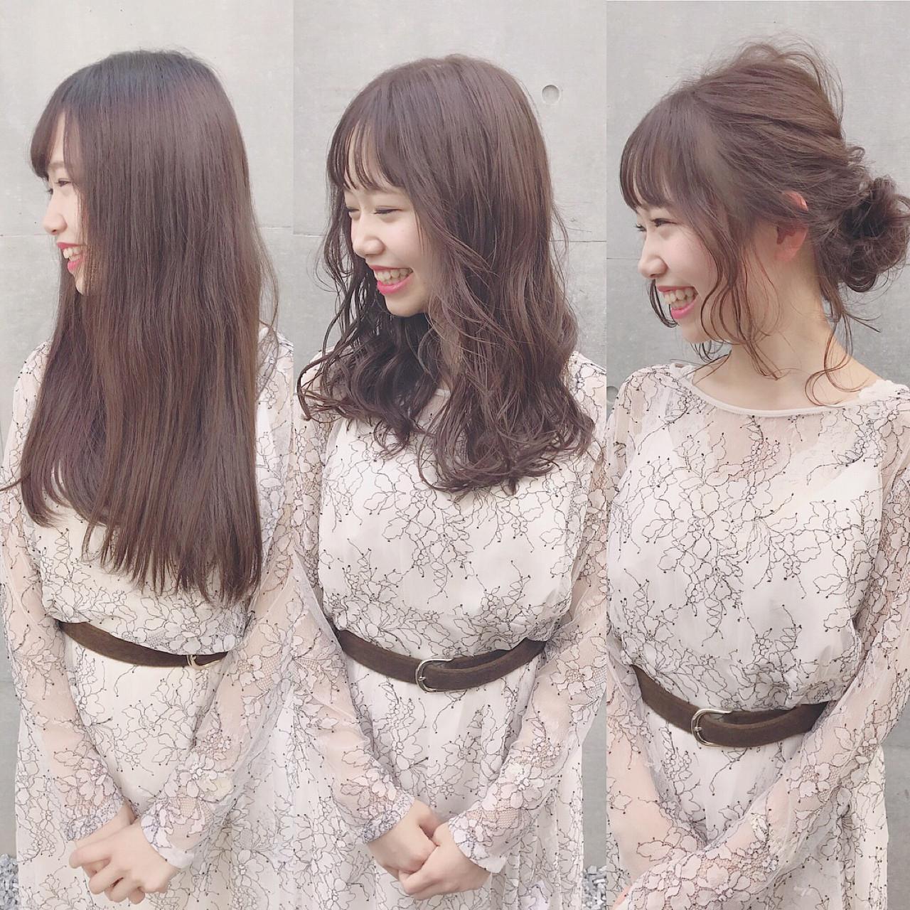 ロングの面長さん必見のヘアアレンジ方法! Wataru Maeda