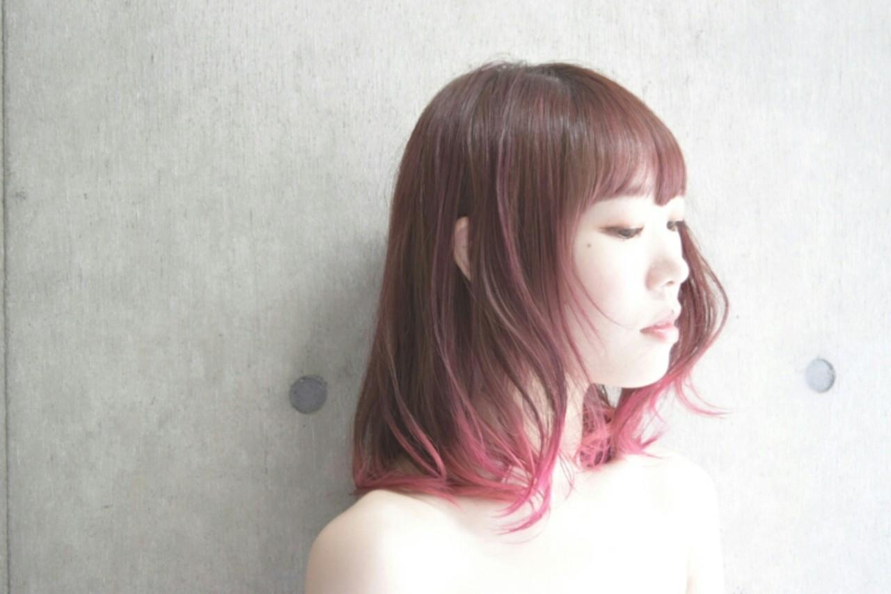 女性らしいベリーピンクのグラデーション♡ 椿 智仁