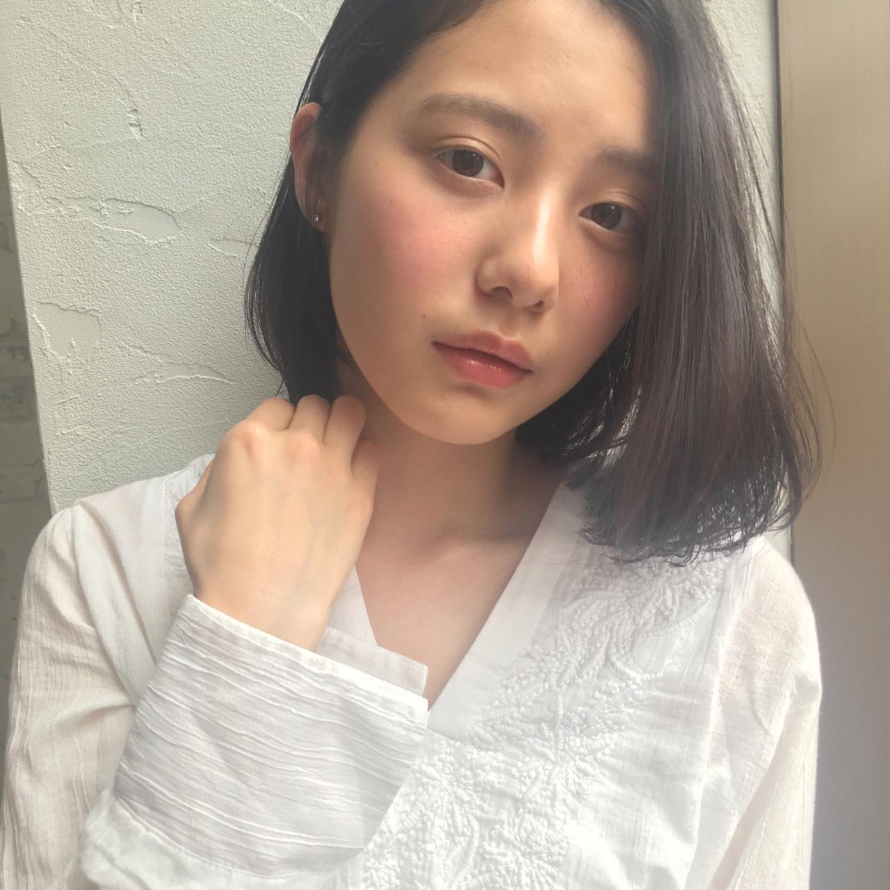 前髪なしが今っぽ♡ワンカールロブ joemi by unami 森千里