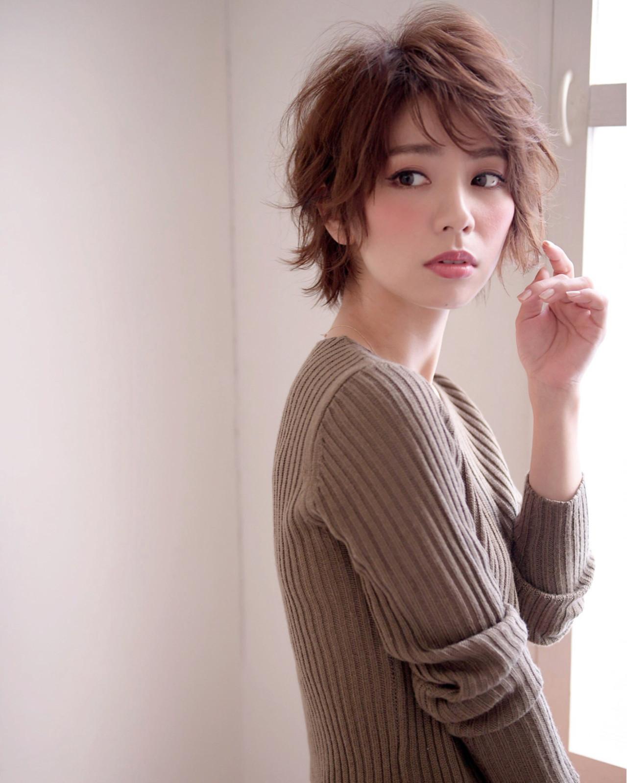 ショートヘアにもぴったりな秋冬カラー 長澤 直樹