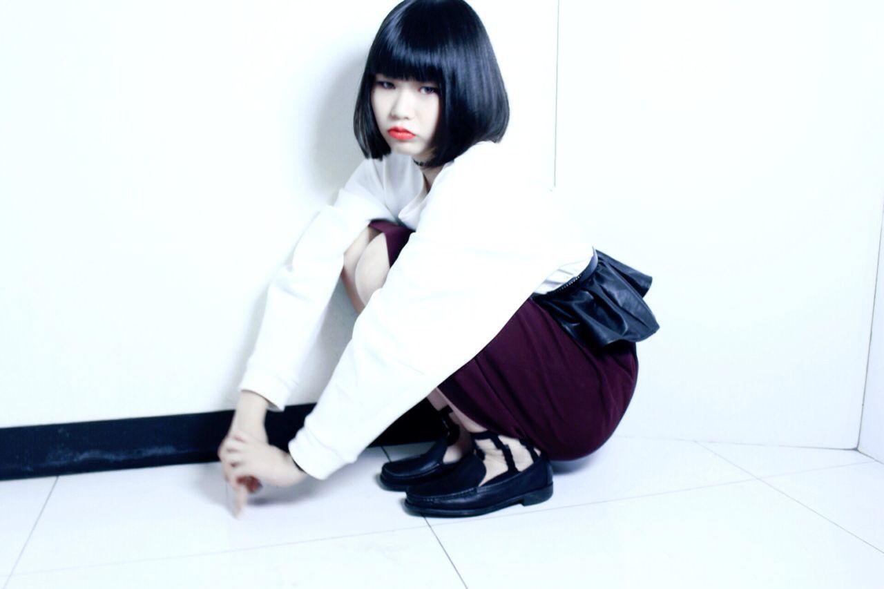 黒髪ボブで個性を出せるぱっつん前髪 中島 香 | Freez川西店