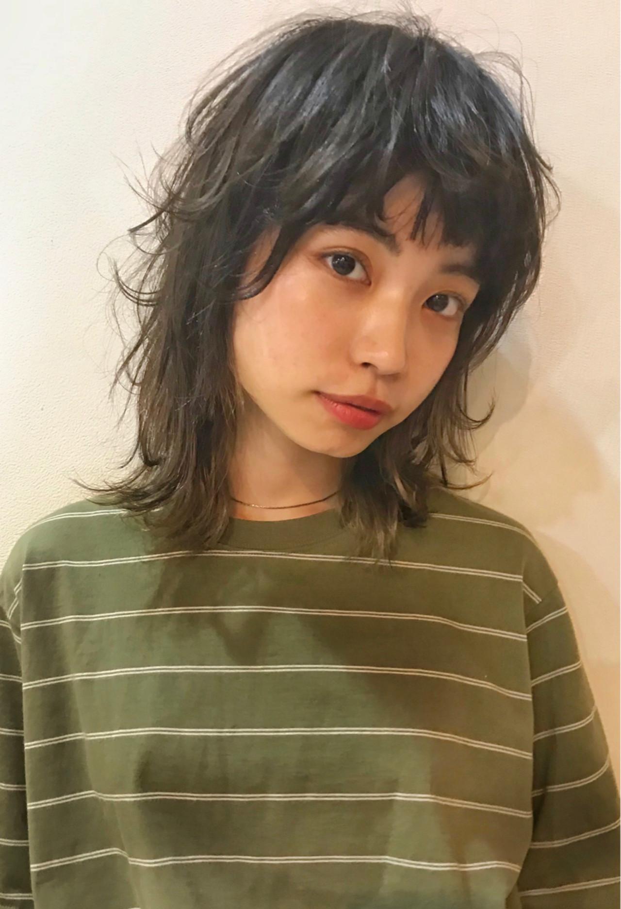 ミディアム アウトドア フェミニン 女子力 ヘアスタイルや髪型の写真・画像