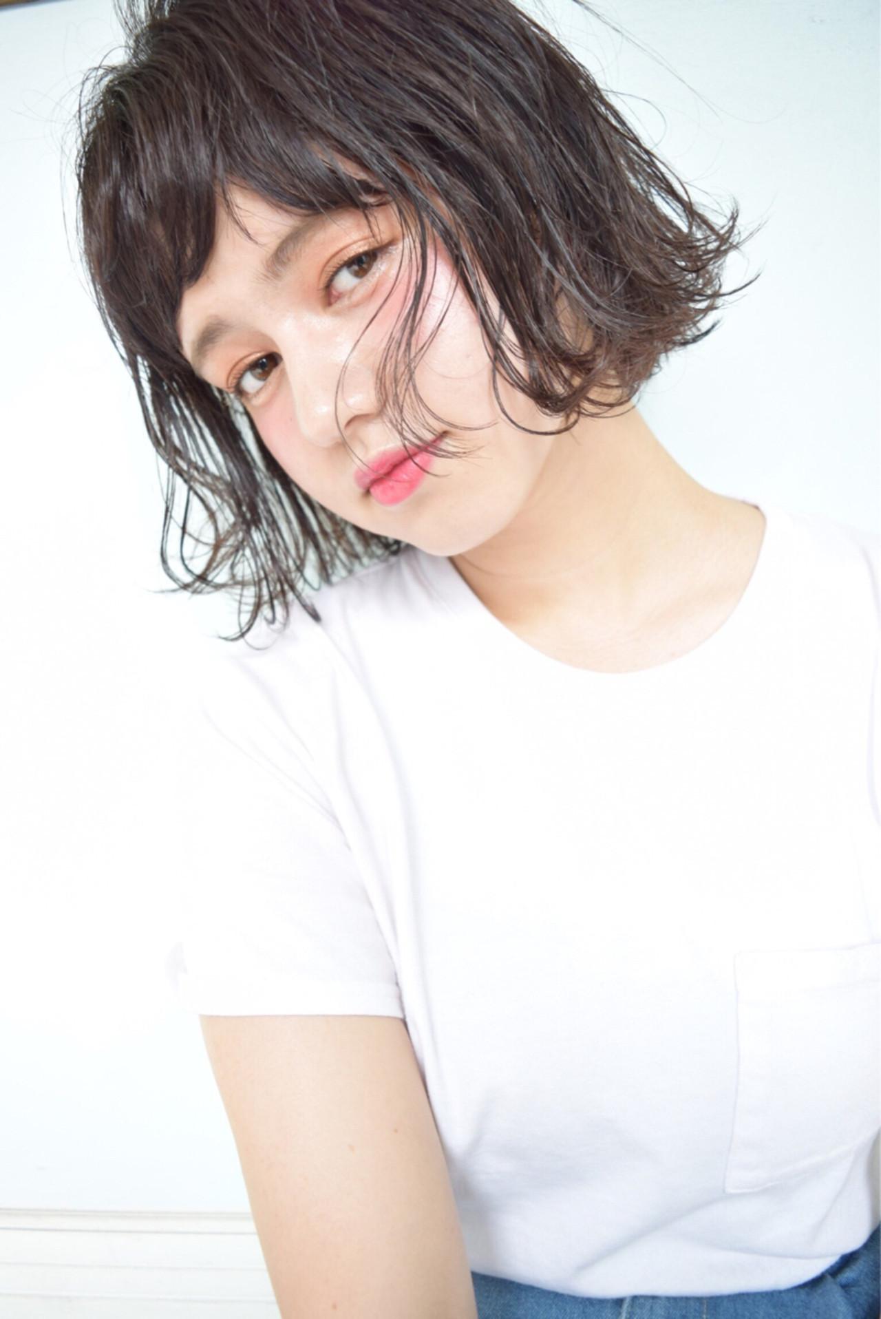 ゆるふわ 外ハネ ガーリー 外国人風 ヘアスタイルや髪型の写真・画像