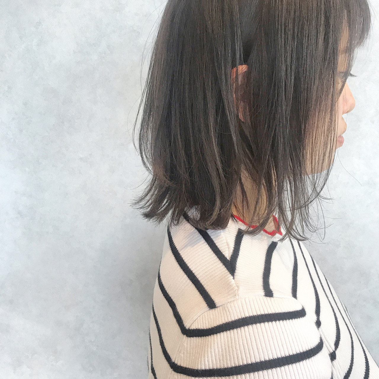 ヘアアレンジ ボブ オフィス 夏 ヘアスタイルや髪型の写真・画像