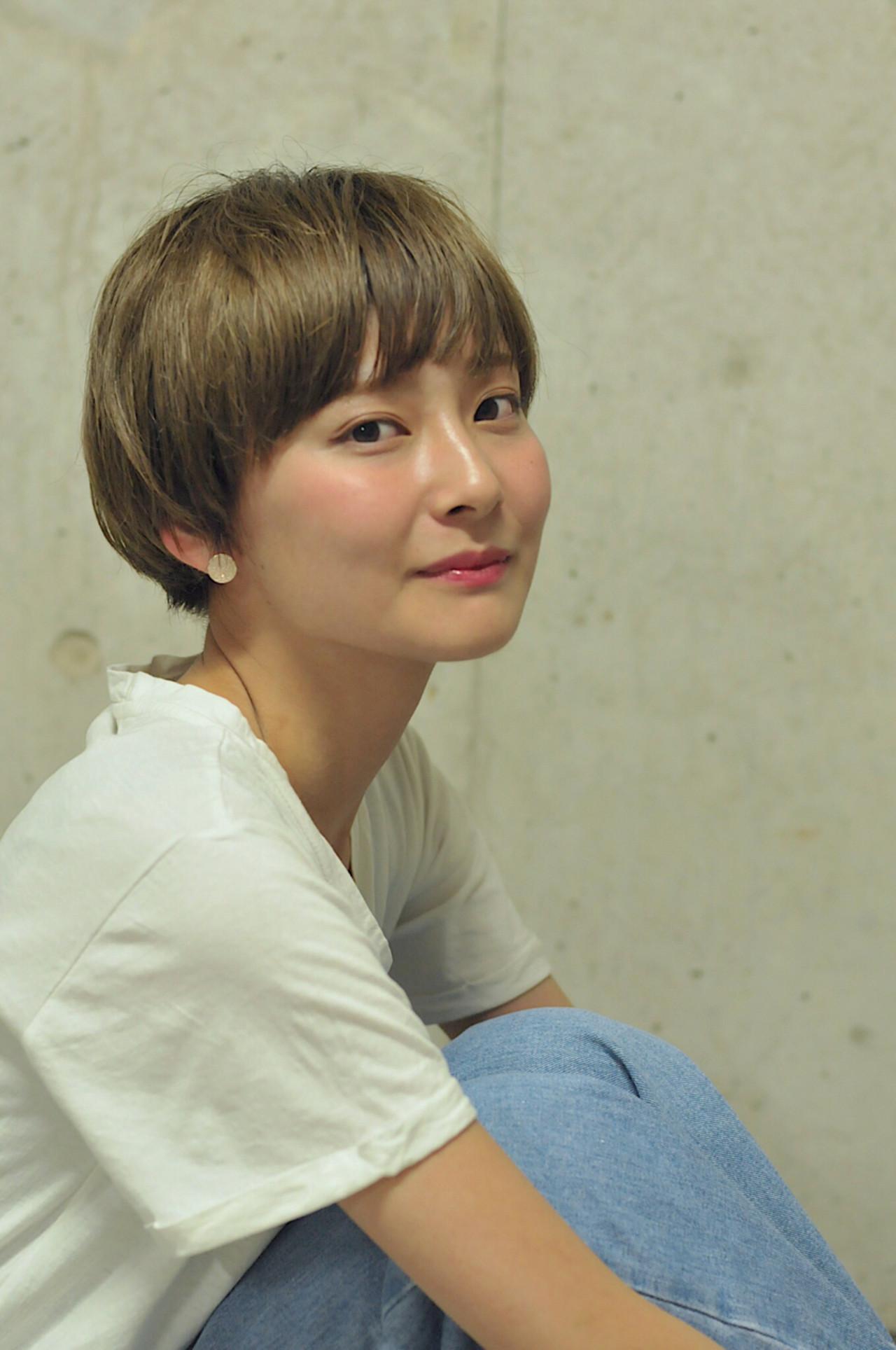 前髪ありマッシュショート♡可愛さ倍増! wada kaori