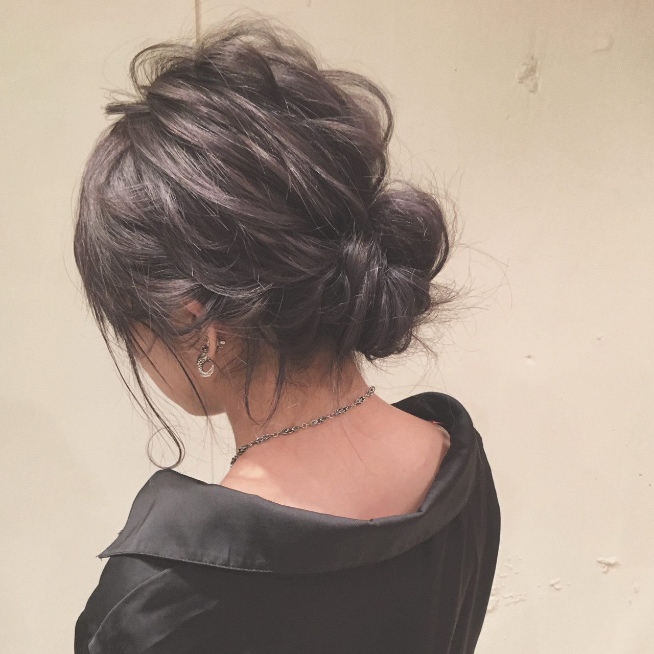 ヘアアレンジ シニヨン ロング 女子会 ヘアスタイルや髪型の写真・画像