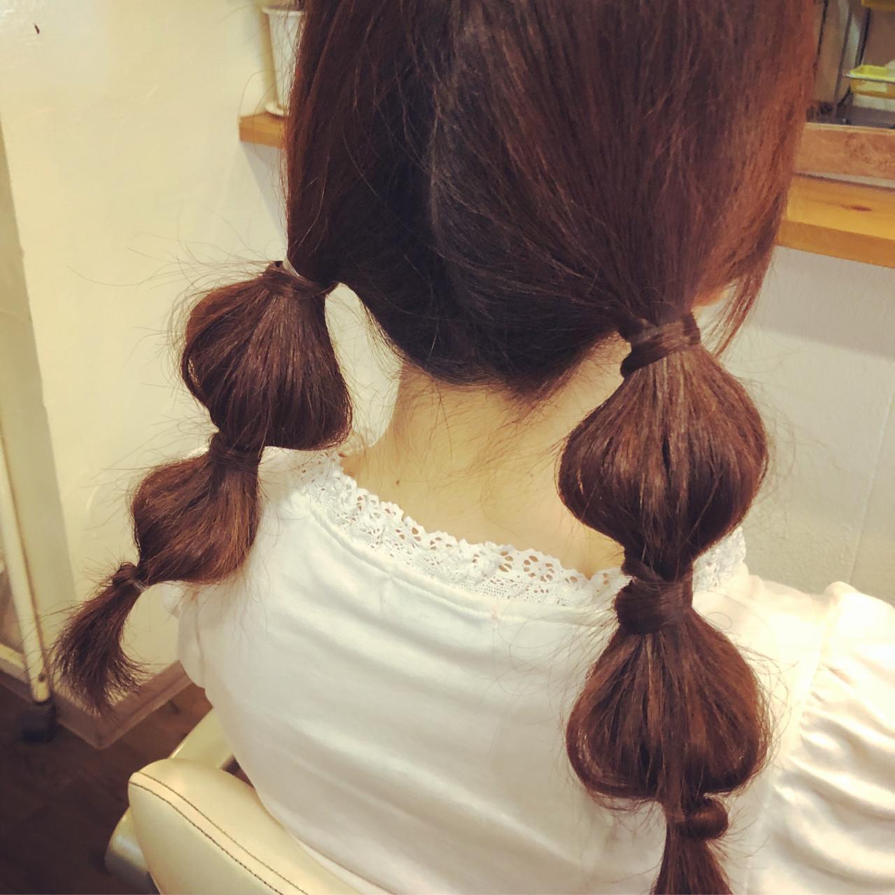 ヘアアレンジ ロング ガーリー ヘアスタイルや髪型の写真・画像