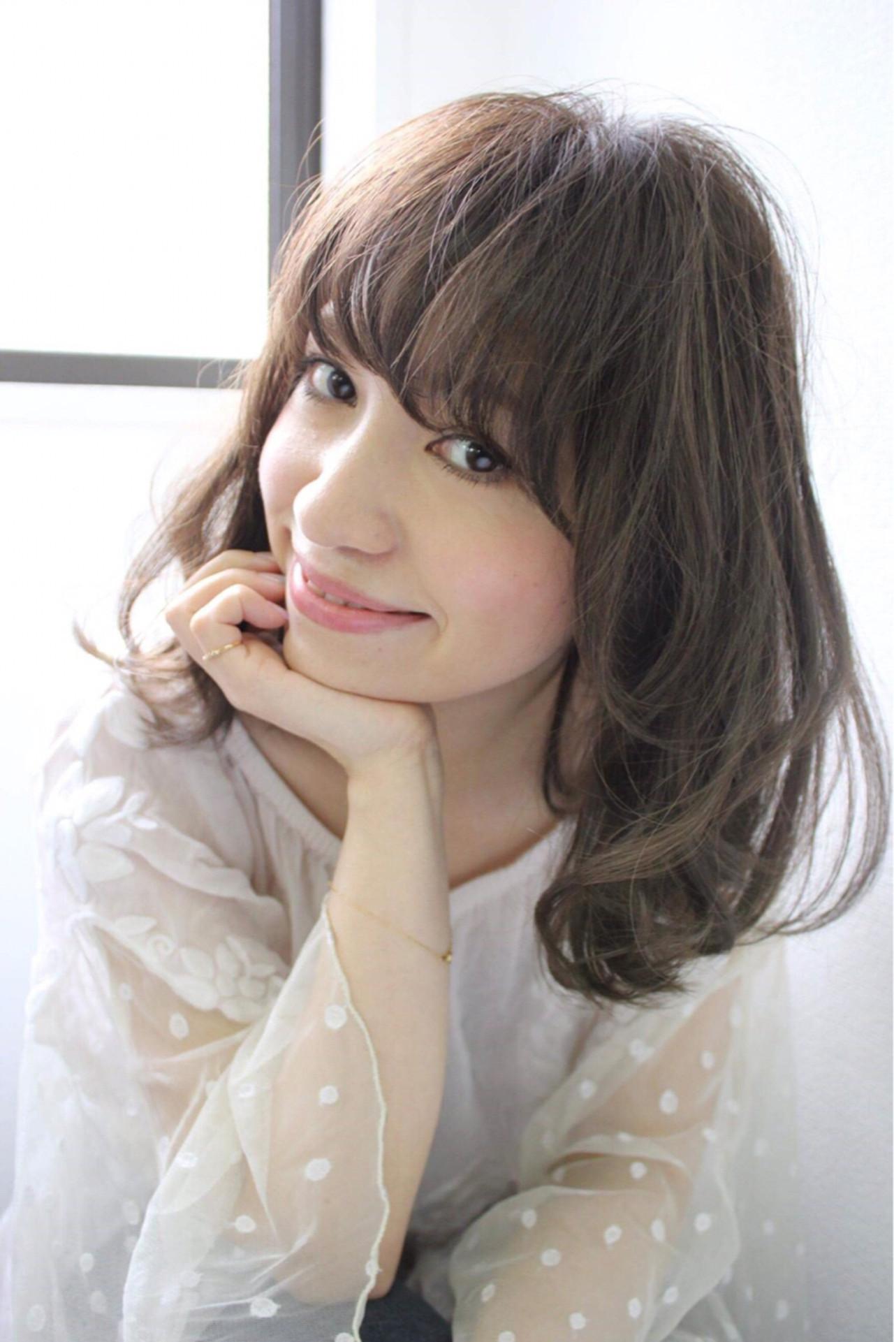 5.ベース型タイプに似合う髪型とは? nanako.k