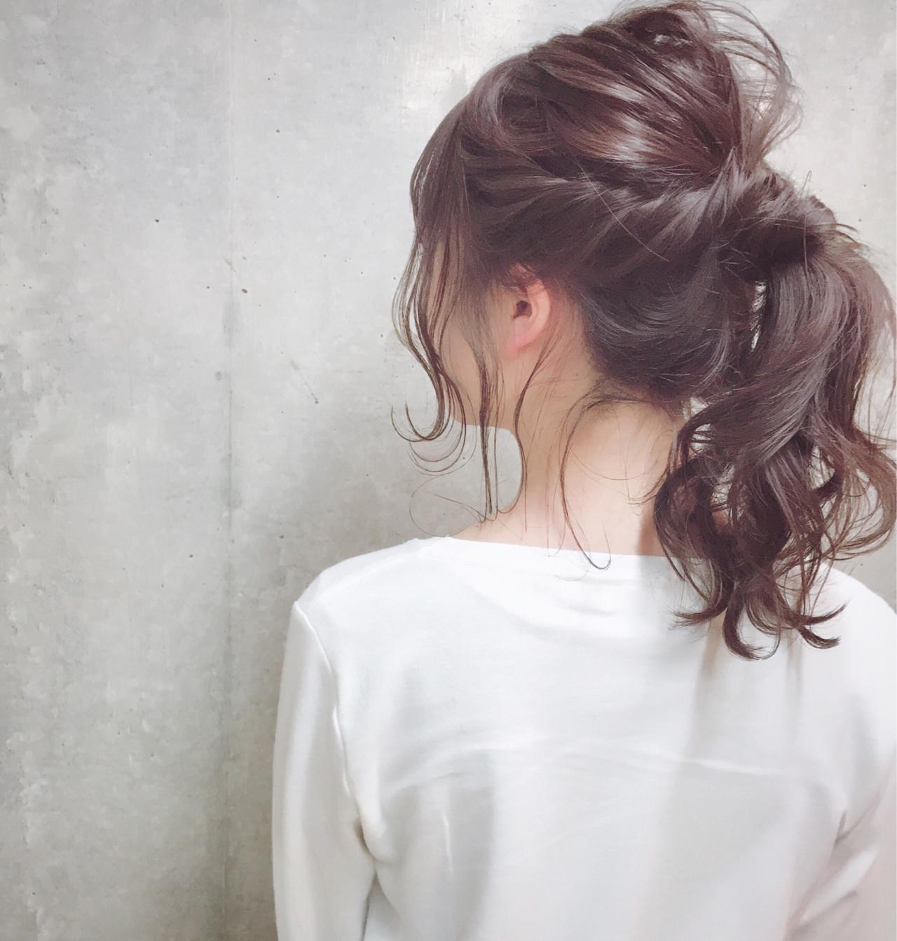 可愛さUP♡ねじった髪で結び目隠し Wataru Maeda