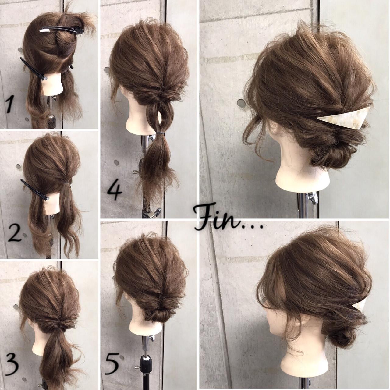 パーティ 大人女子 ヘアアレンジ 簡単 ヘアスタイルや髪型の写真・画像