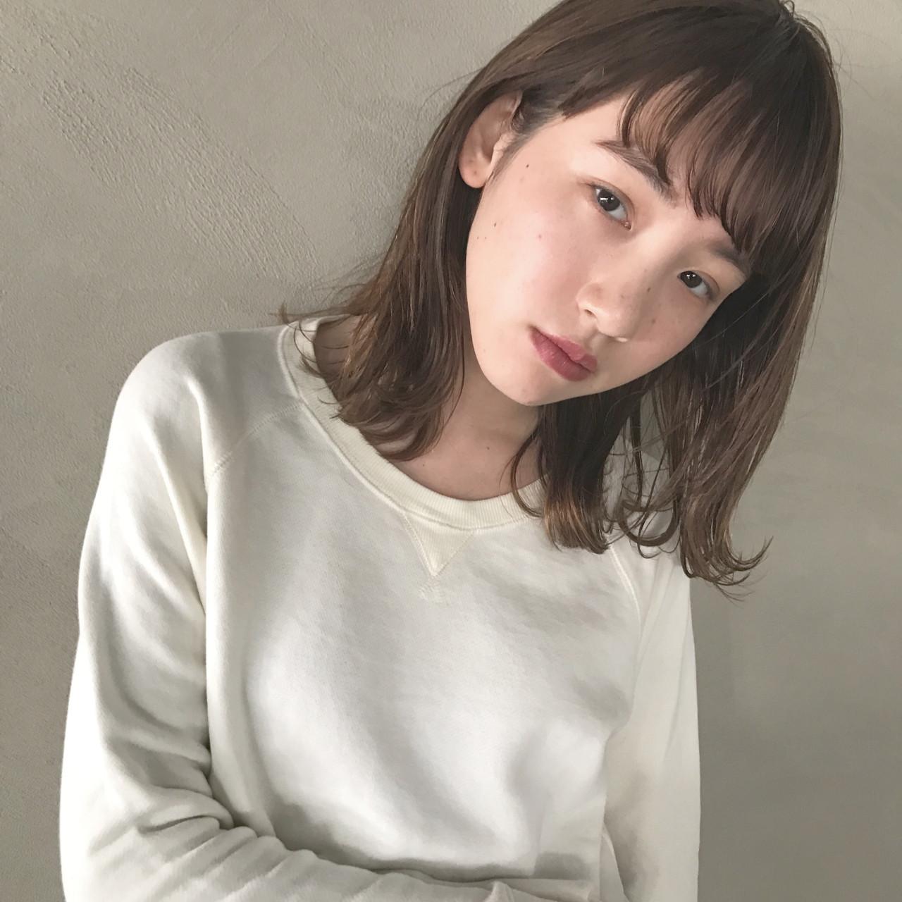 いっそ外ハネに♪旬のヘアスタイルをつくって♡ UEKI/nanuk