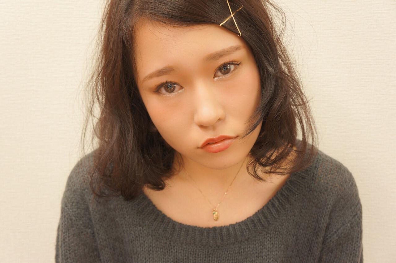 時間がない日はヘアピン×ドライヤーでセット hironao murakami