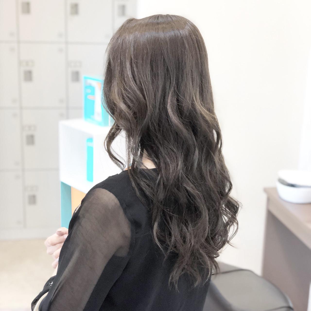 エレガント ロング モテ髪 上品 ヘアスタイルや髪型の写真・画像