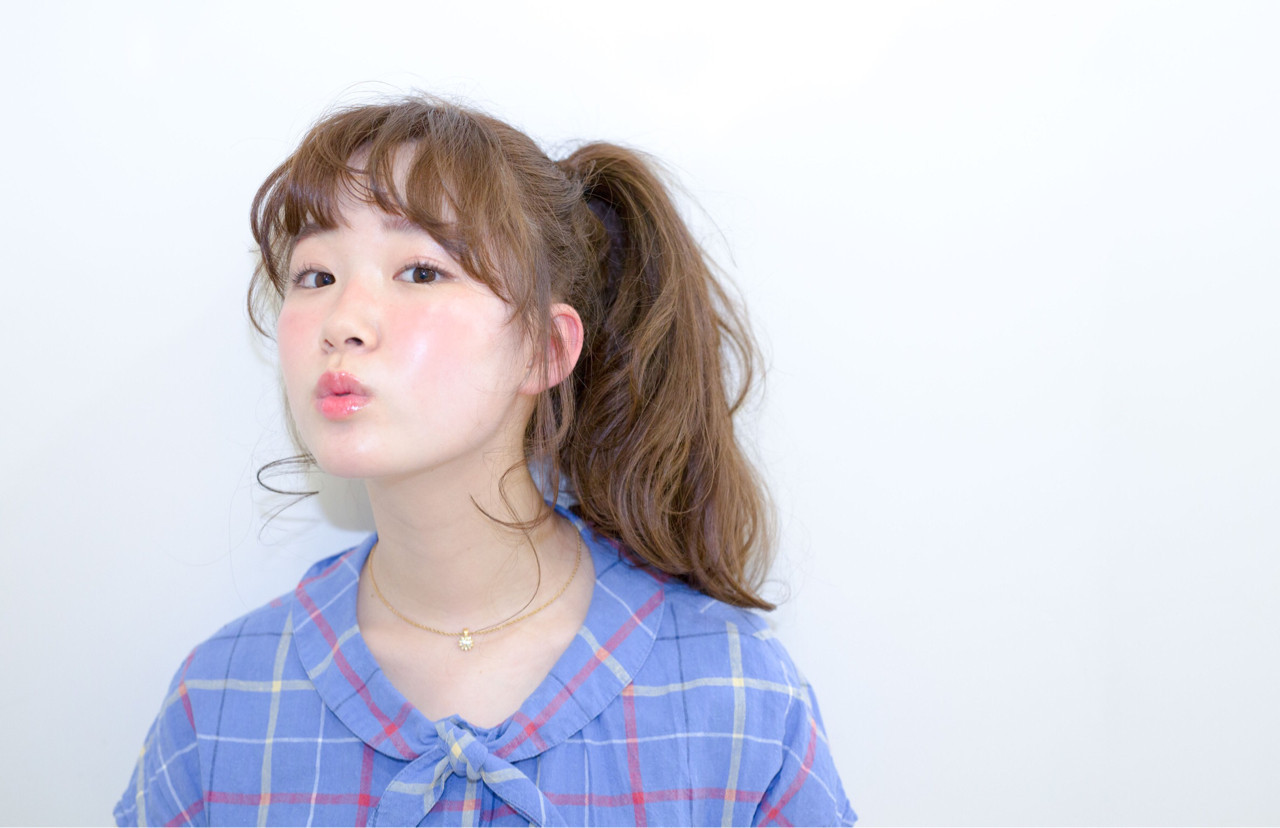 個性的にかわいく♡サイドポニーテール 高木 恵祐