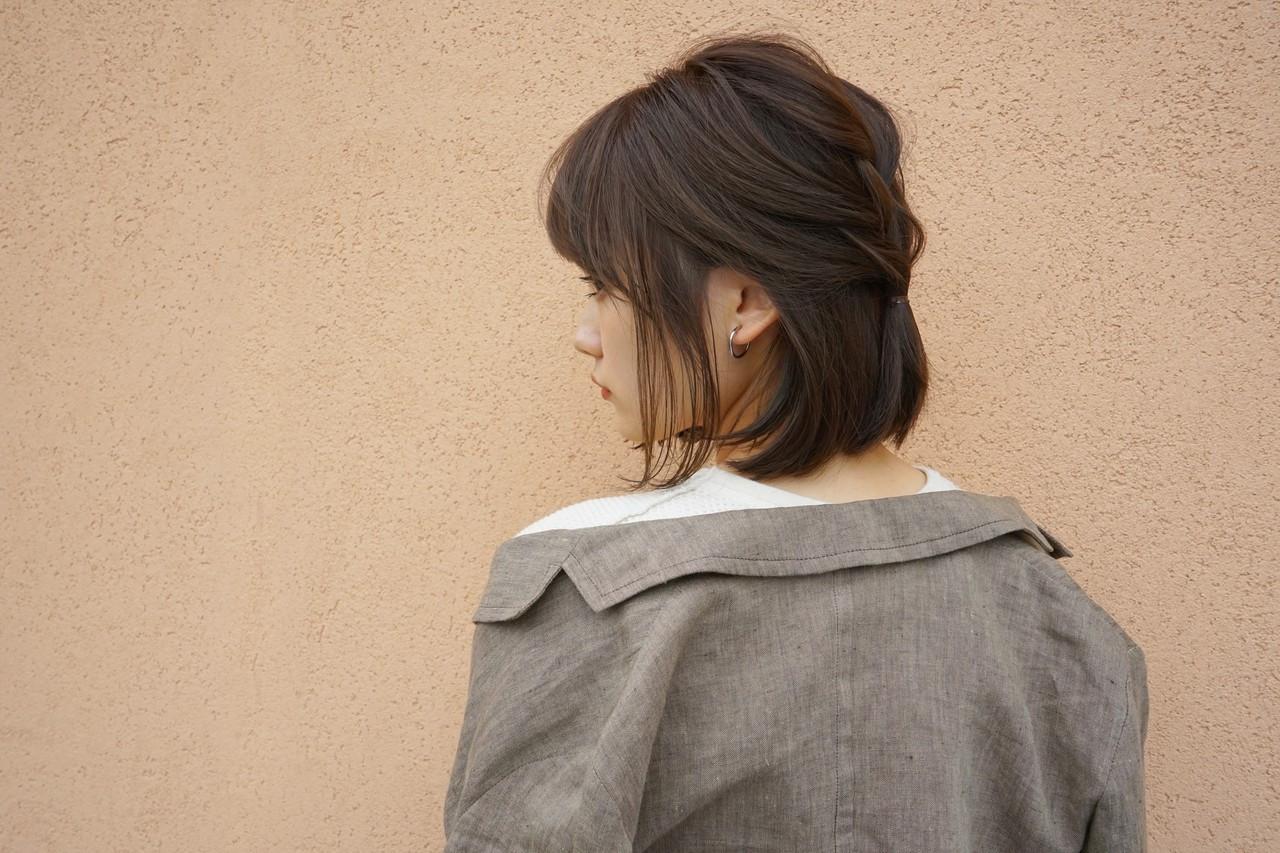 プラス三つ編みの崩れにくいヘア 鈴木 成治