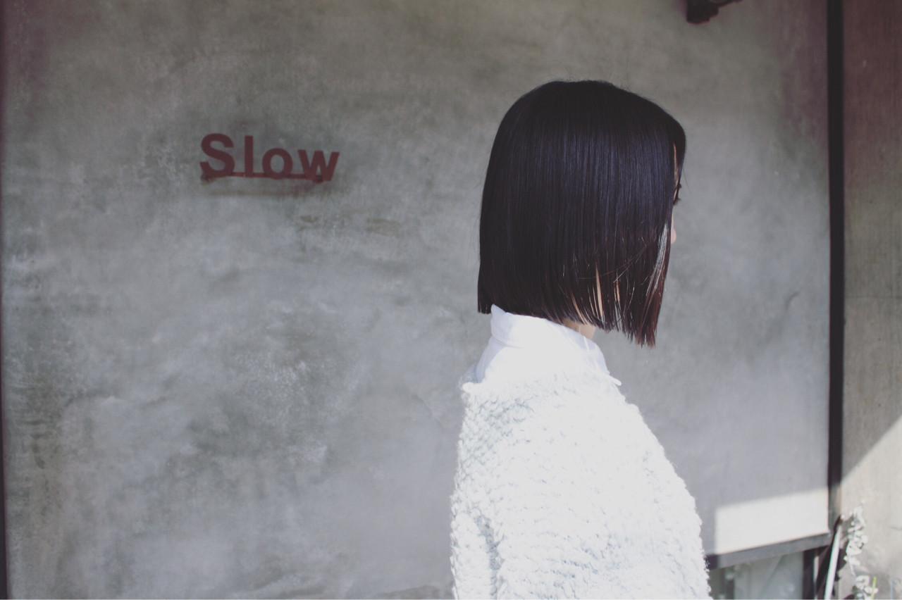 センターパートが大人カッコいいシャープな印象に♪ Tatsuo Araki