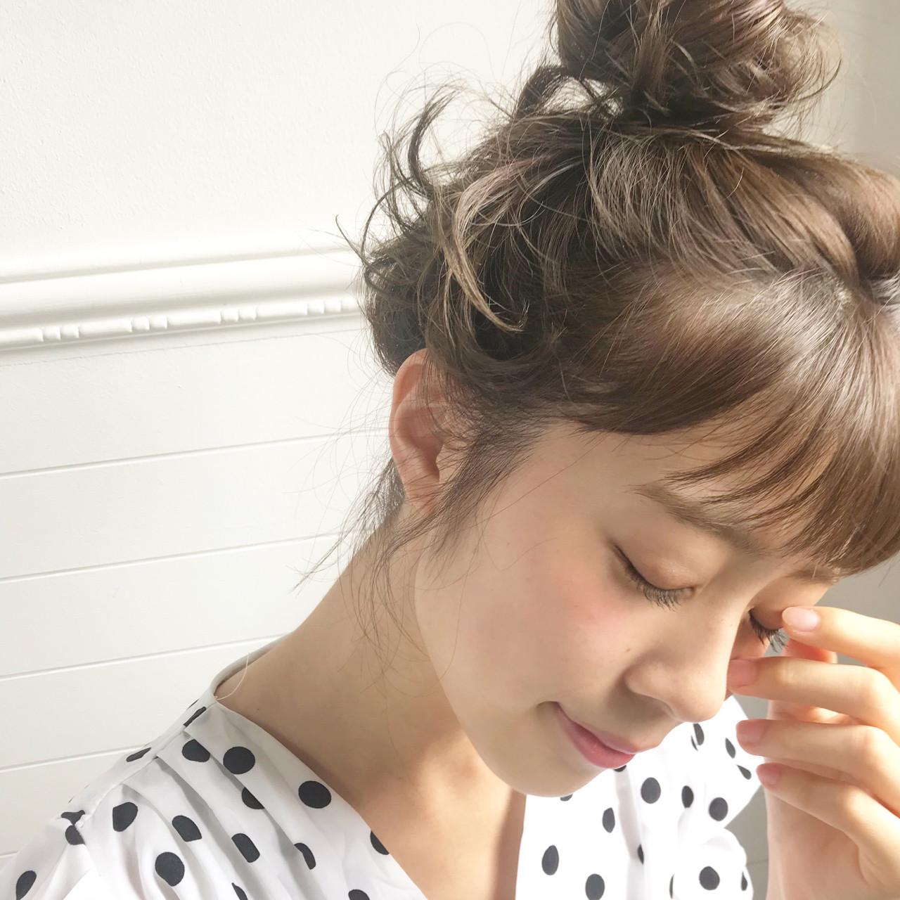 トップでキュキュっと♡時短まとめ髪ヘア 永澤佑衣