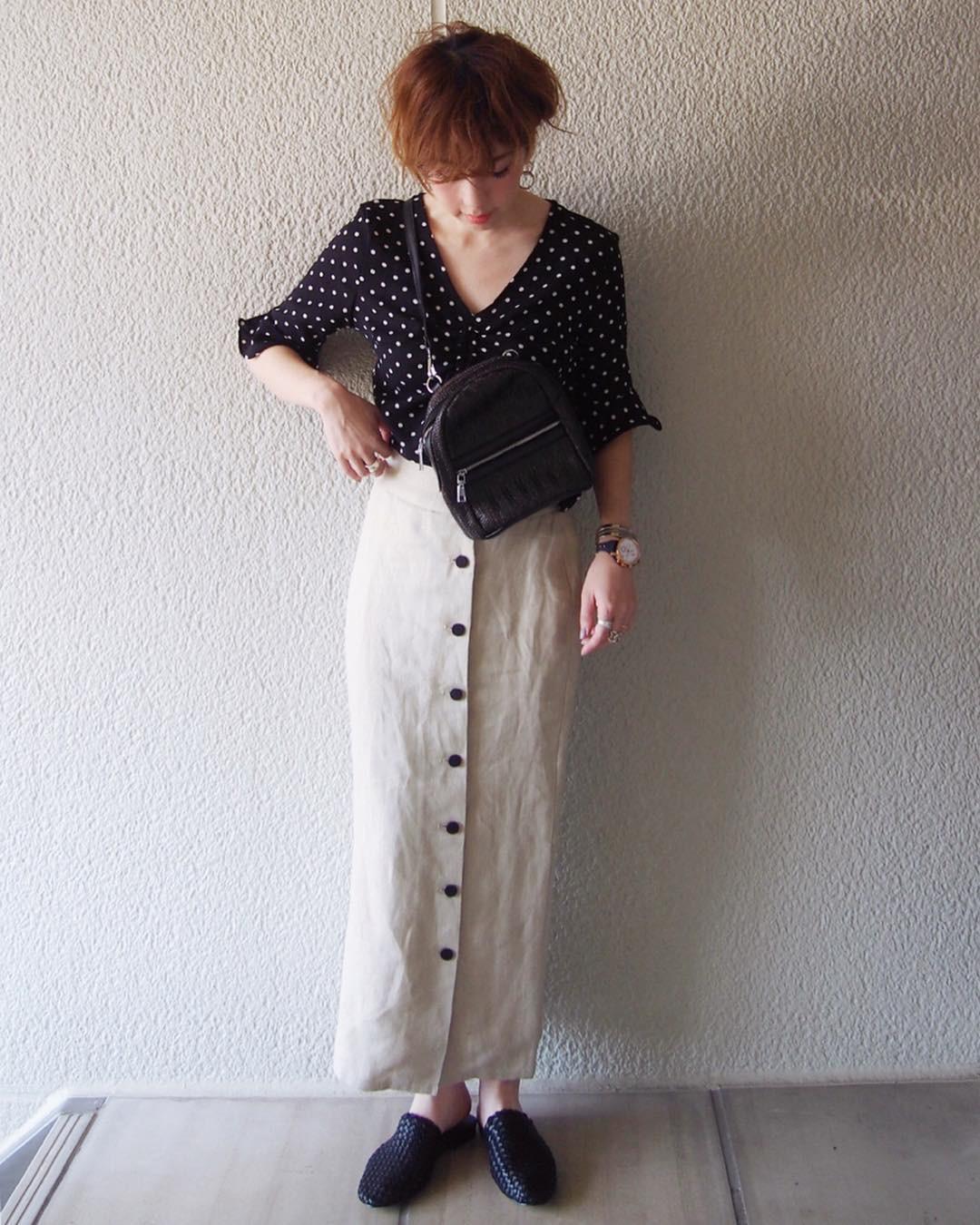シンプルさが◎ロングスカート misato36