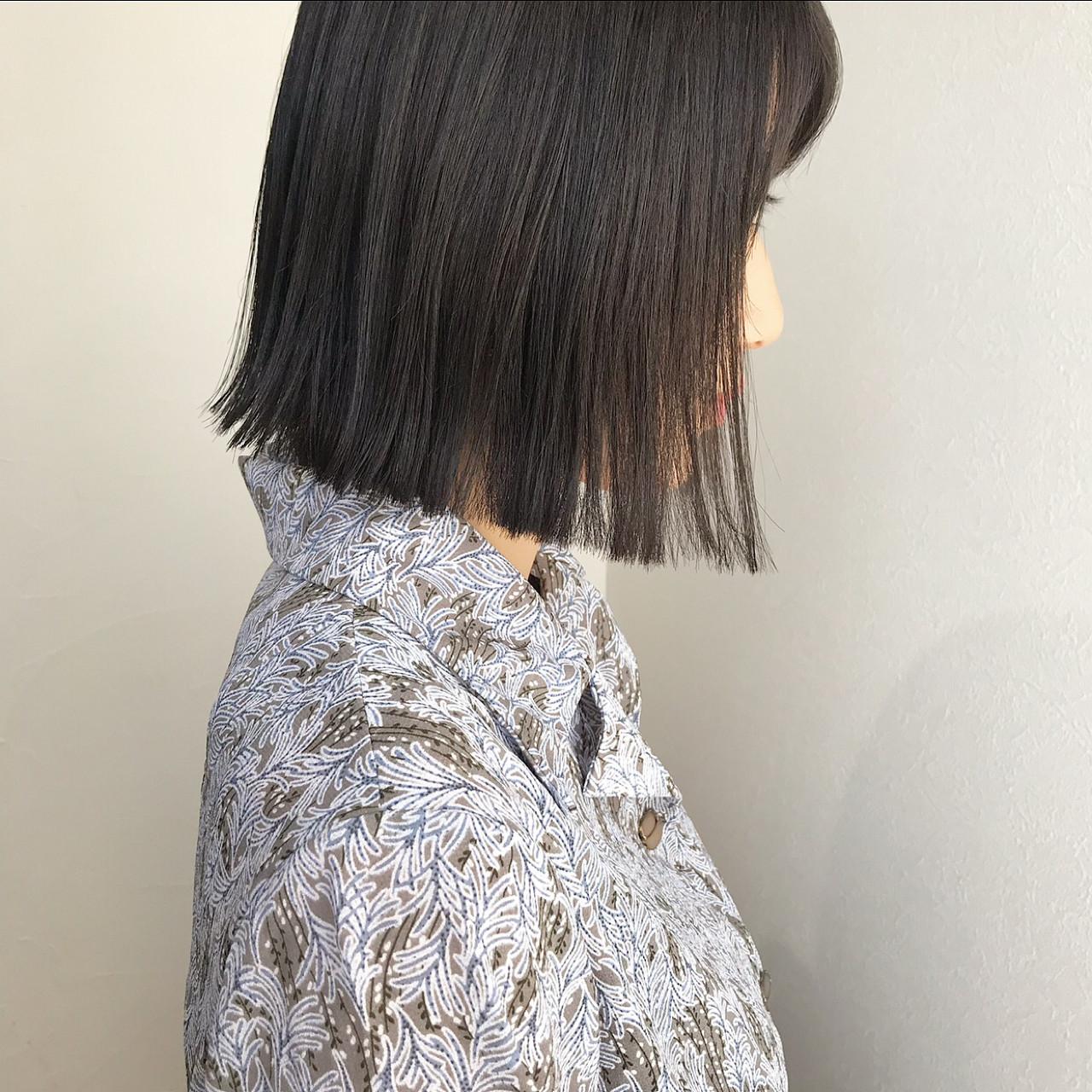 暗めカラーも透明感で軽やかに♪ kurihara ayaka
