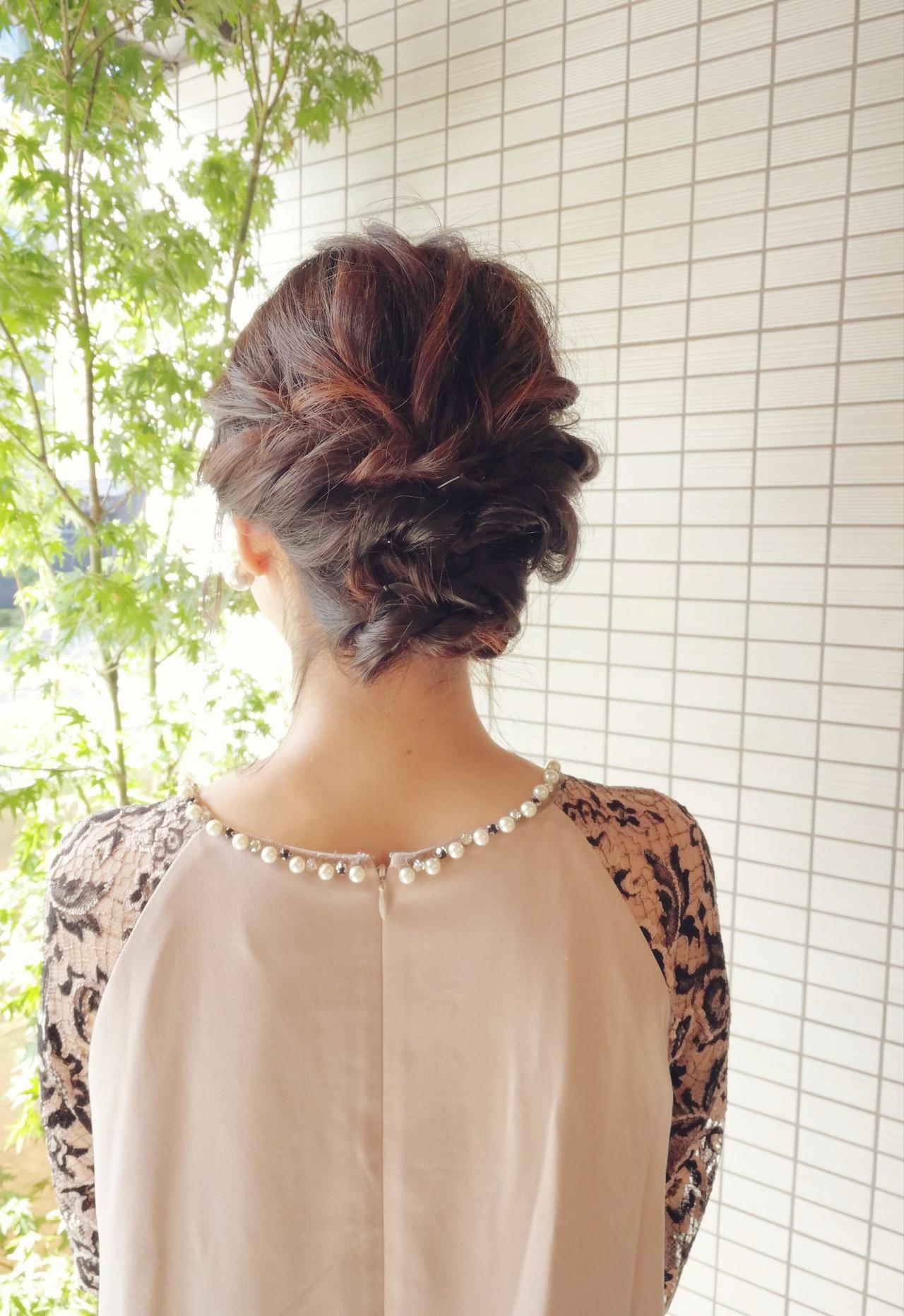華やかなアップスタイル Saori Kastuki  Holic_beauty_salon