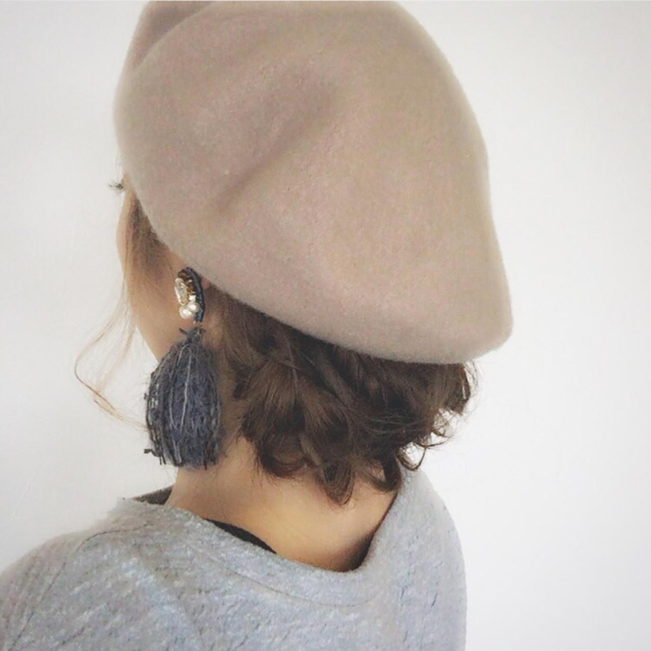 ロングの髪をしまうおしゃれ見せヘア♪ 大西未紗
