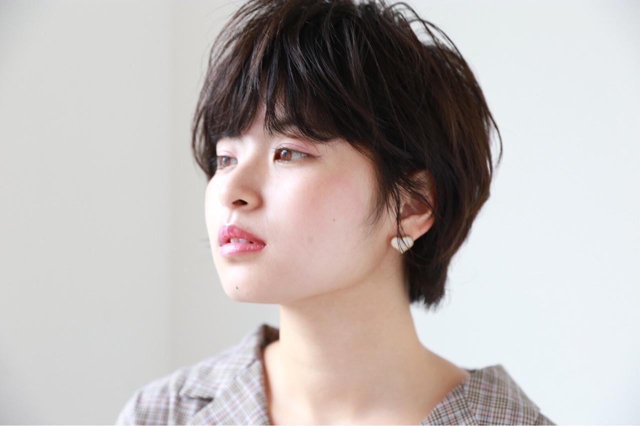 2.丸顔タイプに似合う髪型とは? Reina