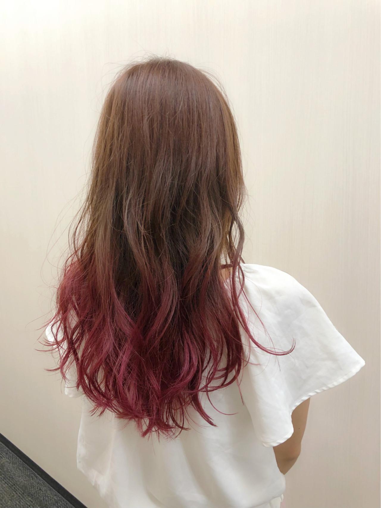 派手髮に挑戦するなら毛先ピンクがおすすめ! 久保佑介
