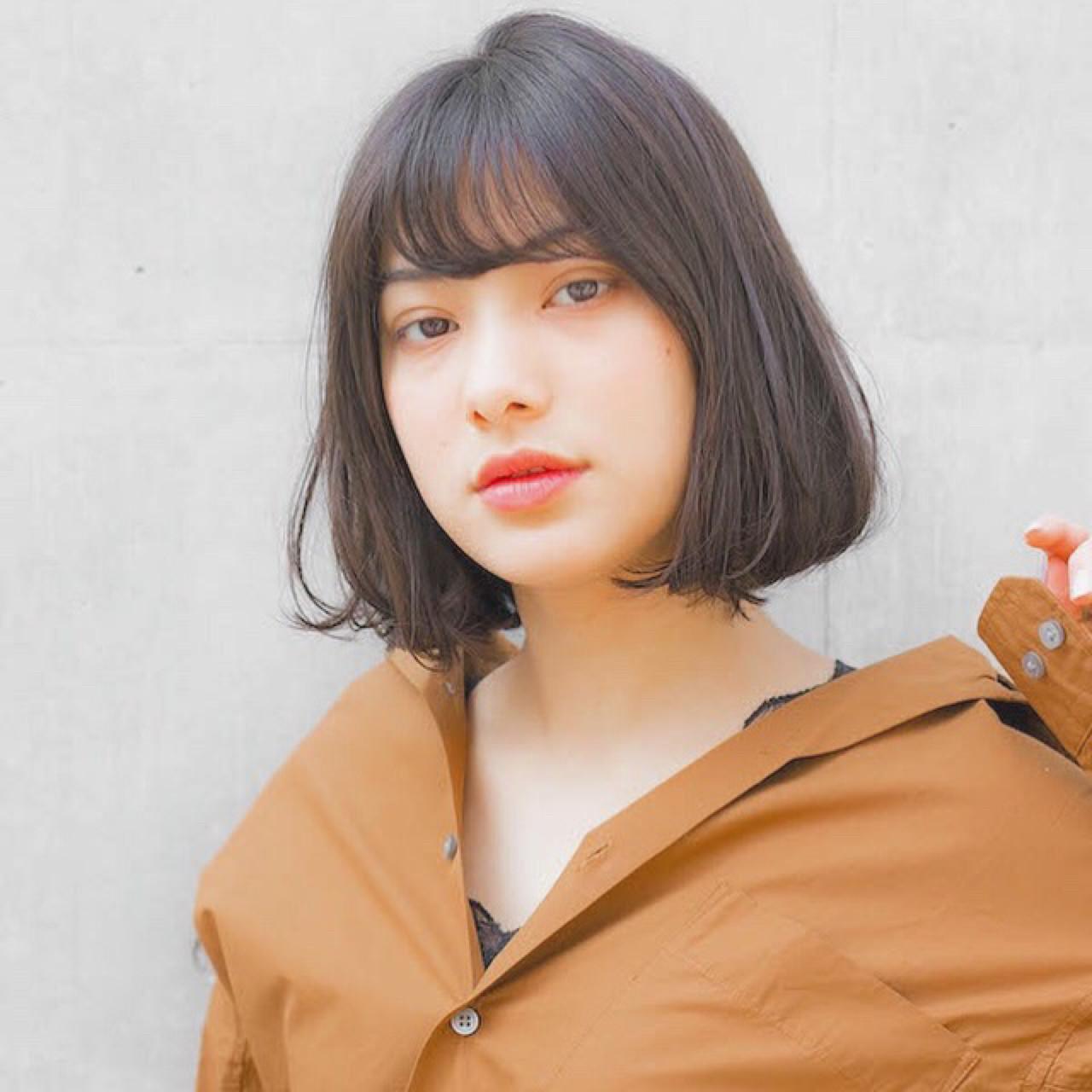 ナチュラルに♡男性ウケ満点黒髪ボブ 竹澤 優/relian銀座Top stylist