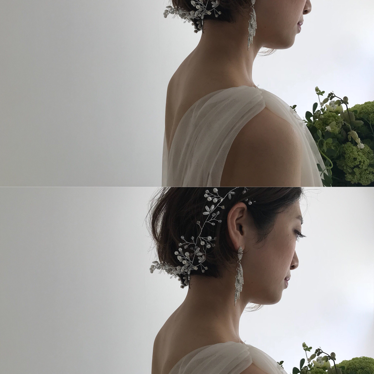 お花がポイントの髪型 bibito TSUJII&NAGAI  bibito