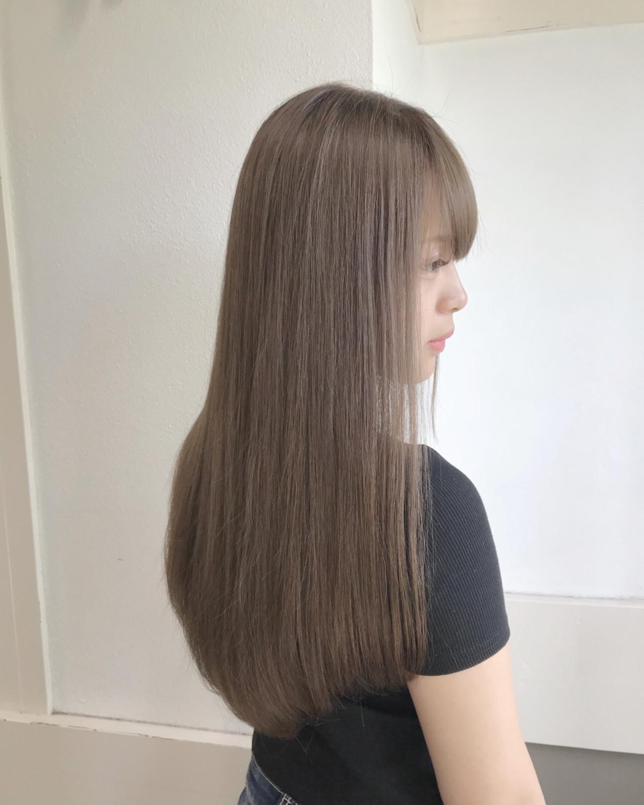ロング ガーリー 女子力 ヘアスタイルや髪型の写真・画像